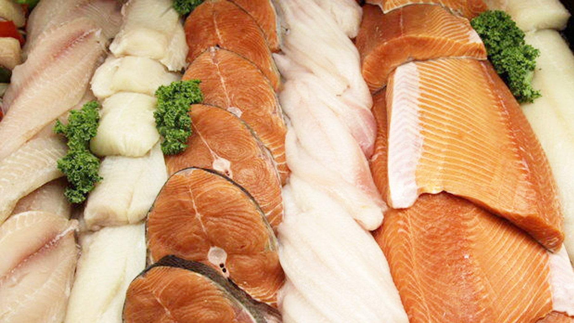 That wild caught salmon may actually be farmed.