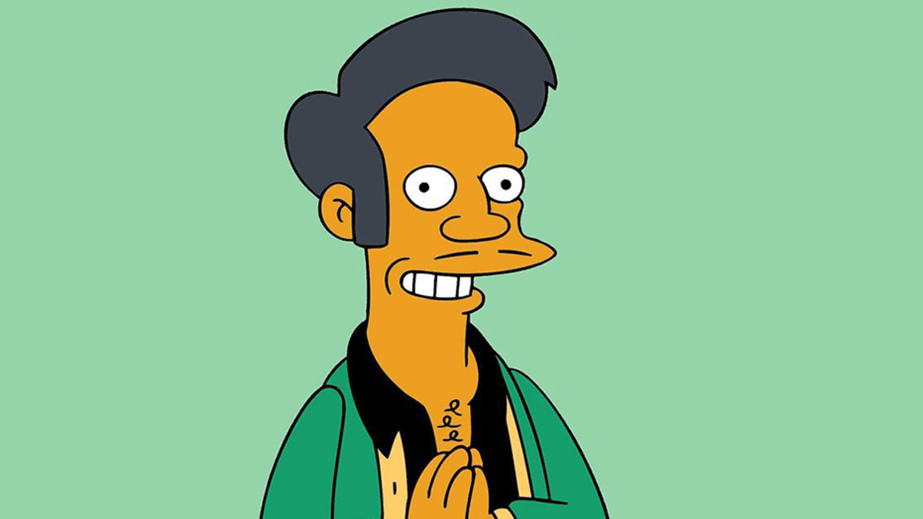 """The Simpsons"" addressed the controversy surrounding its character Apu in Sunday night's episode."
