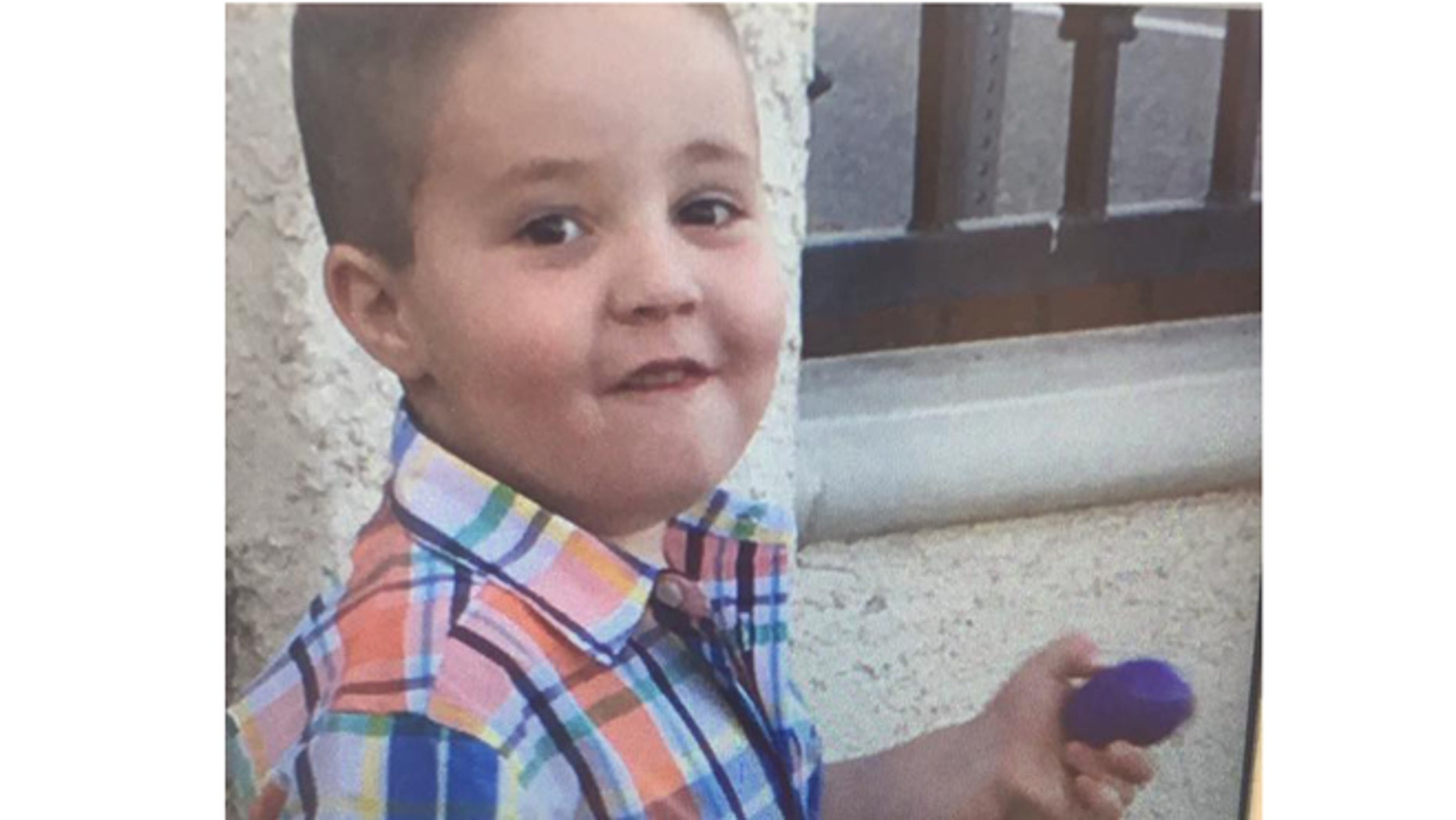 South Pasadena police in California say they are searching for this child, Aramazd Andressian, 5.