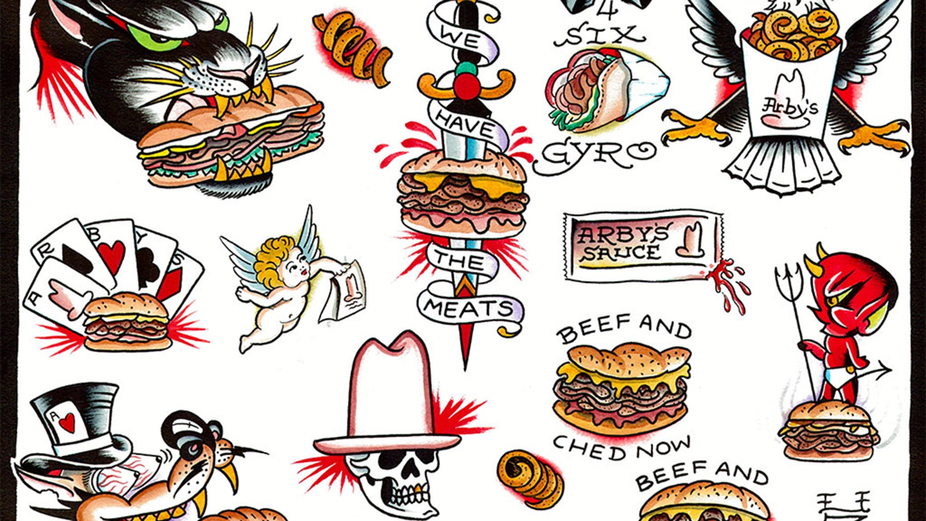Arby's is paying for their most dedicated fans to get sandwich tattoos.