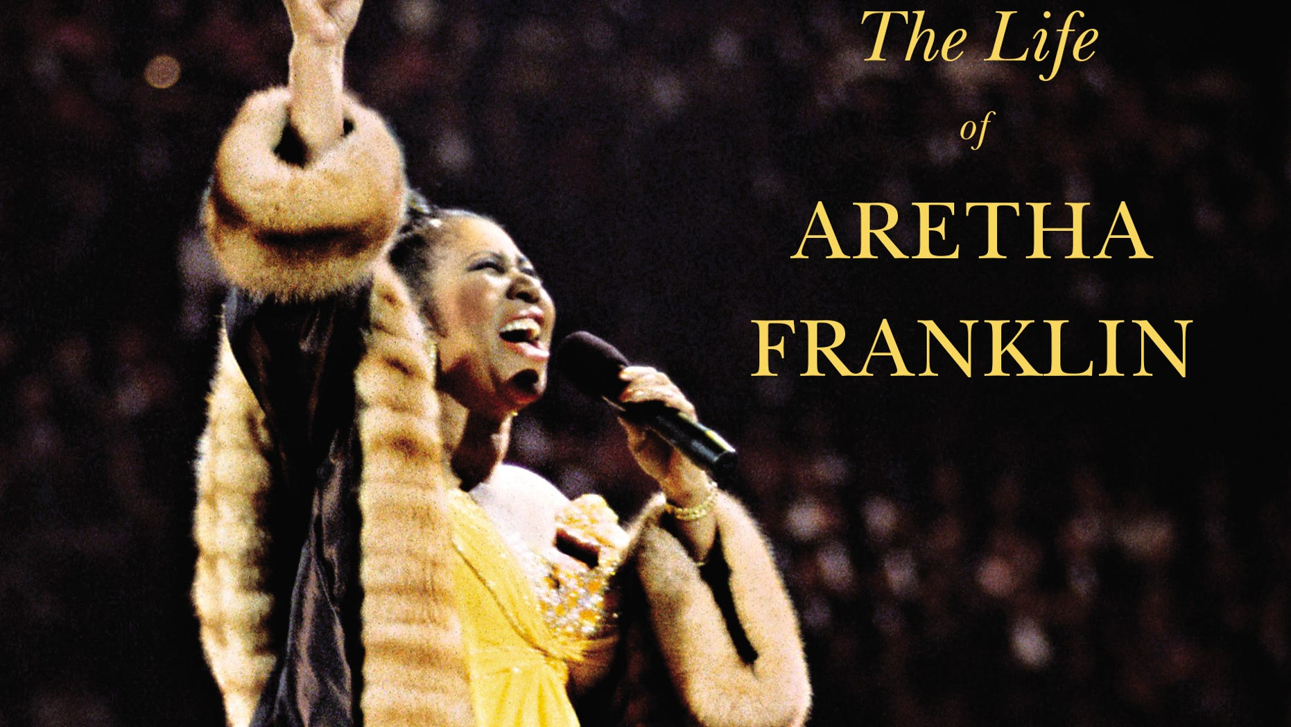 "Book jacket of ""Respect: The Life of Aretha Franklin,"" a biography by David Ritz."
