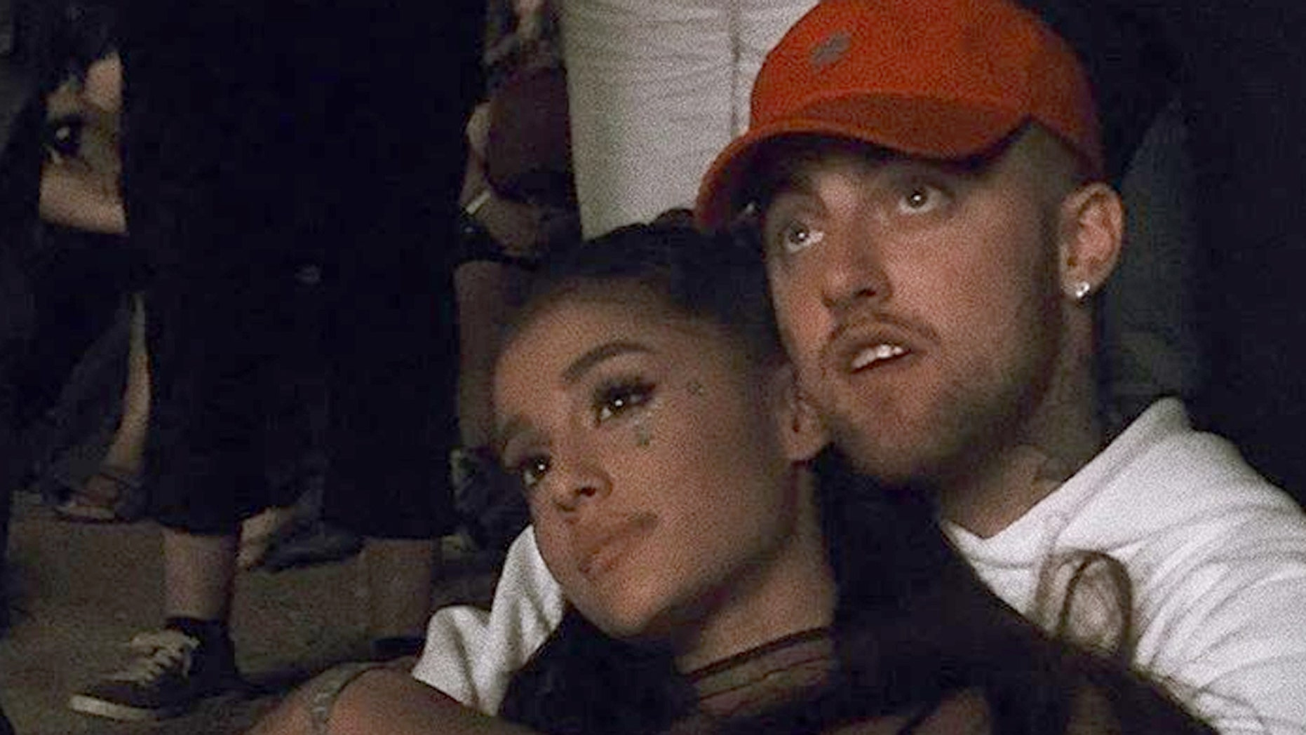Ariana Grande and rapper Mac Miller break up after two years of dating.