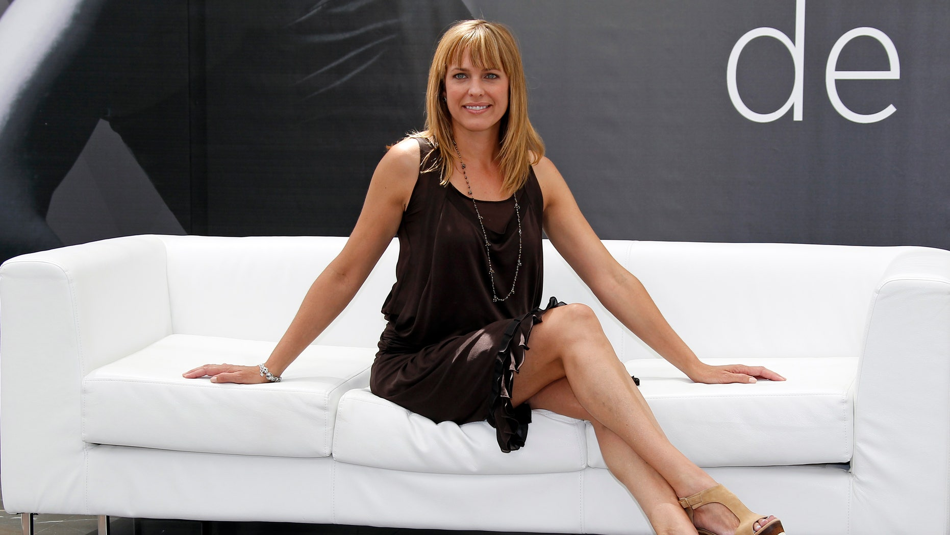 "Arianne Zucker poses during a photocall for the TV series ""Days Of Our Lives"" at the 52nd Monte Carlo Television Festival in Monaco June 12, 2012. REUTERS"