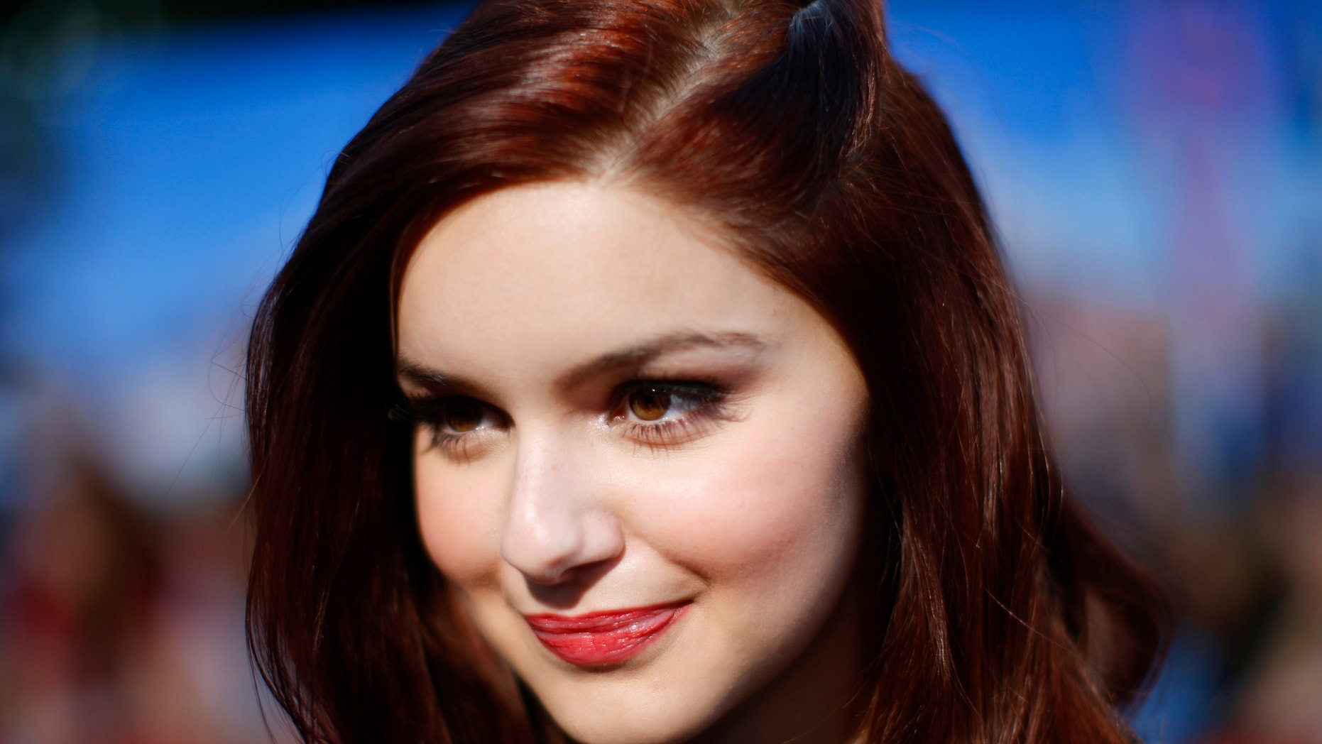 """Modern Family"" actress Ariel Winter poses in California."