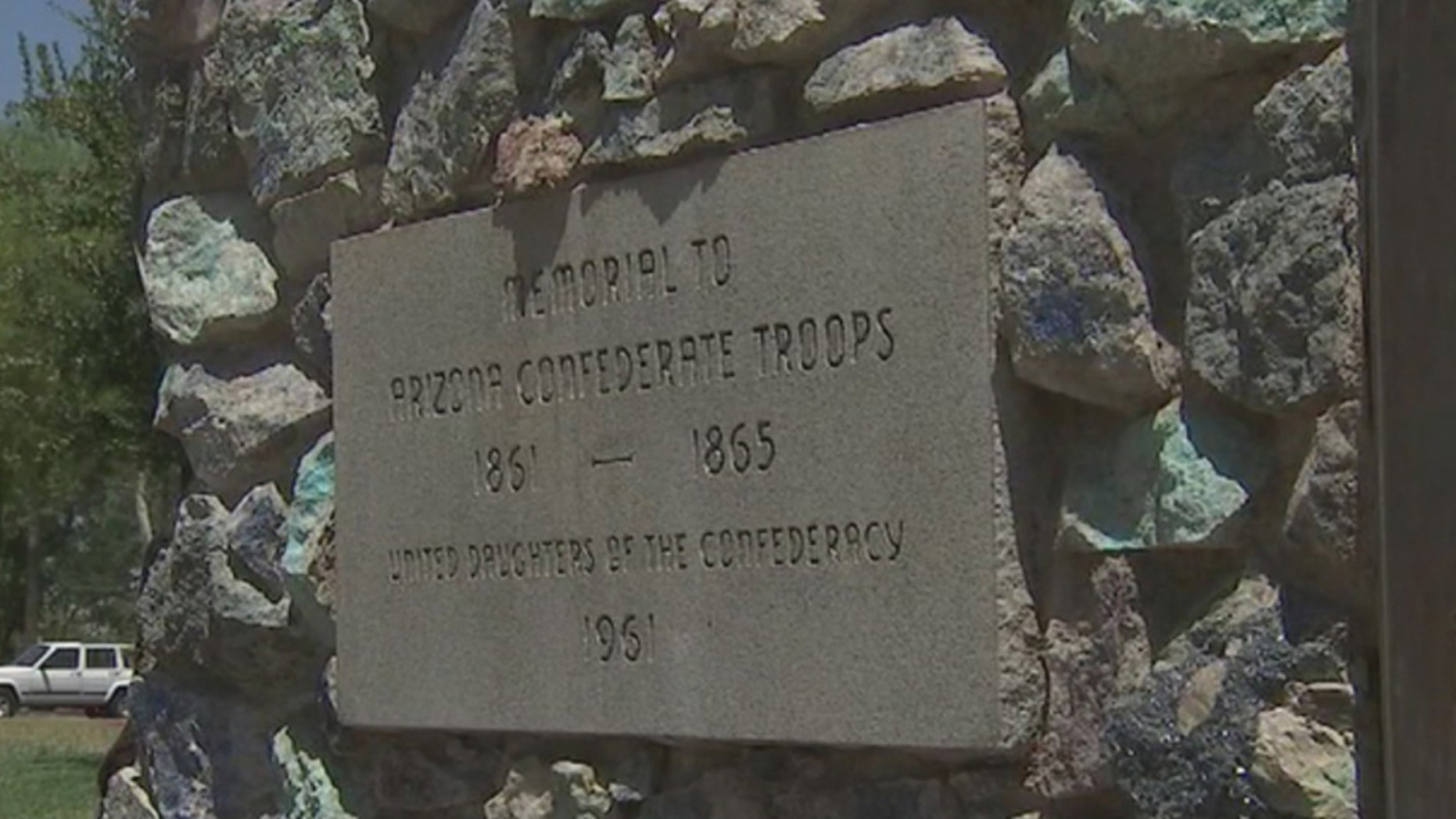 A group wants to start removing Confederate markers from public land in Arizona.