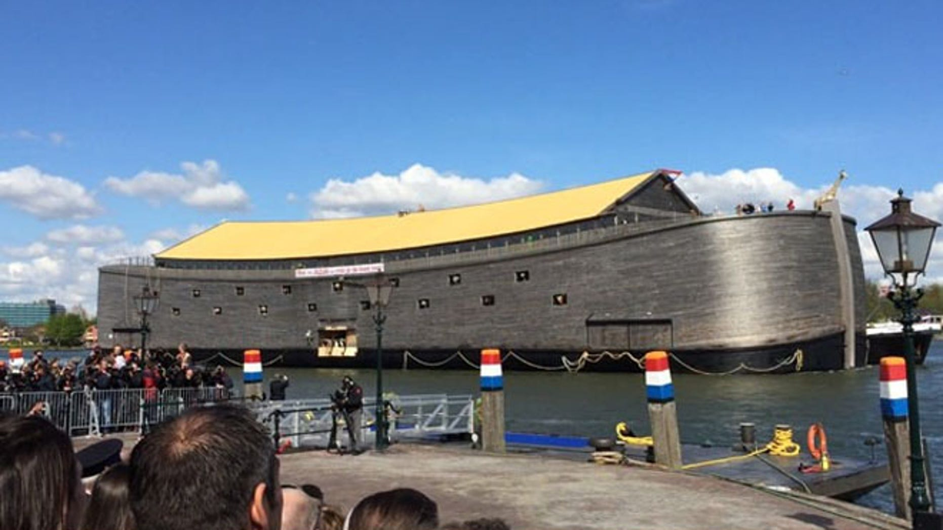 The ark is a major tourist attraction in Holland, but could be bound for the Americas. (Ark of Noah Foundation)