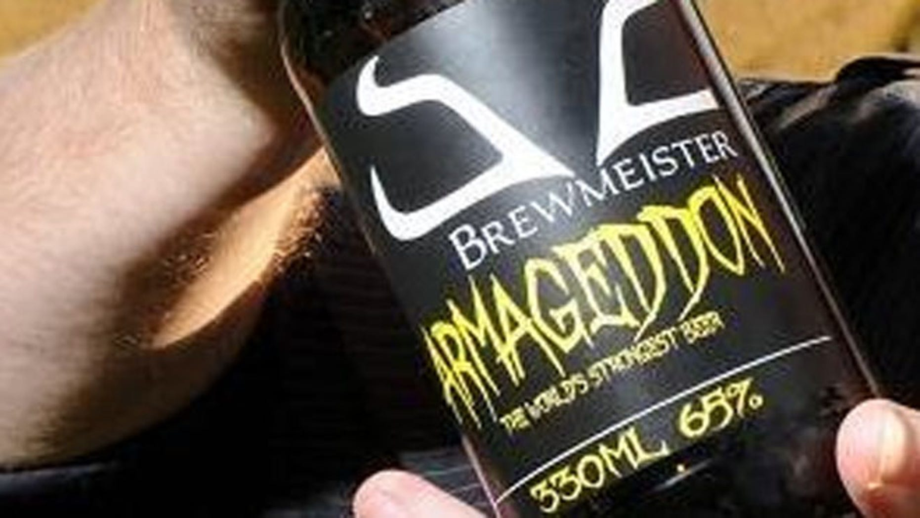 Brewmeister Brewery has produced the world's strongest beer with a 65 percent ABV.