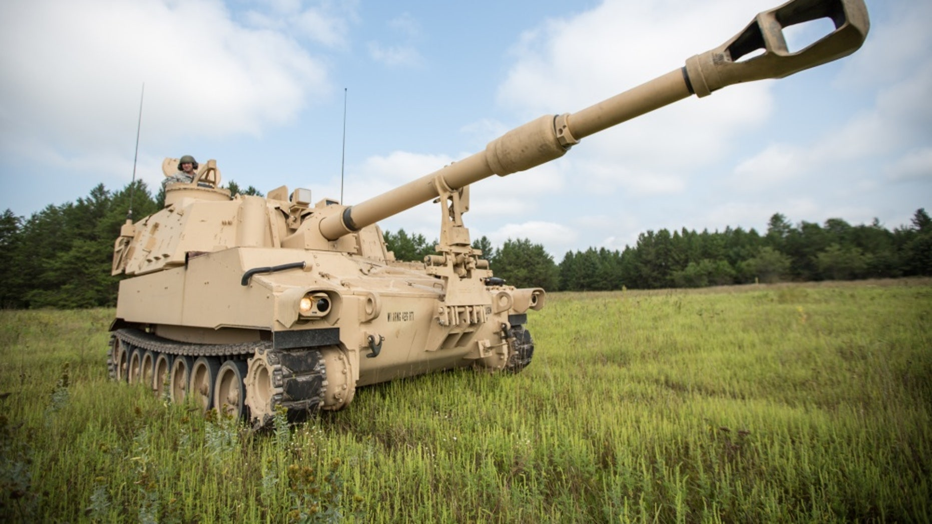 Army builds new self-propelled Howitzer - cannon will hit 43 5 miles