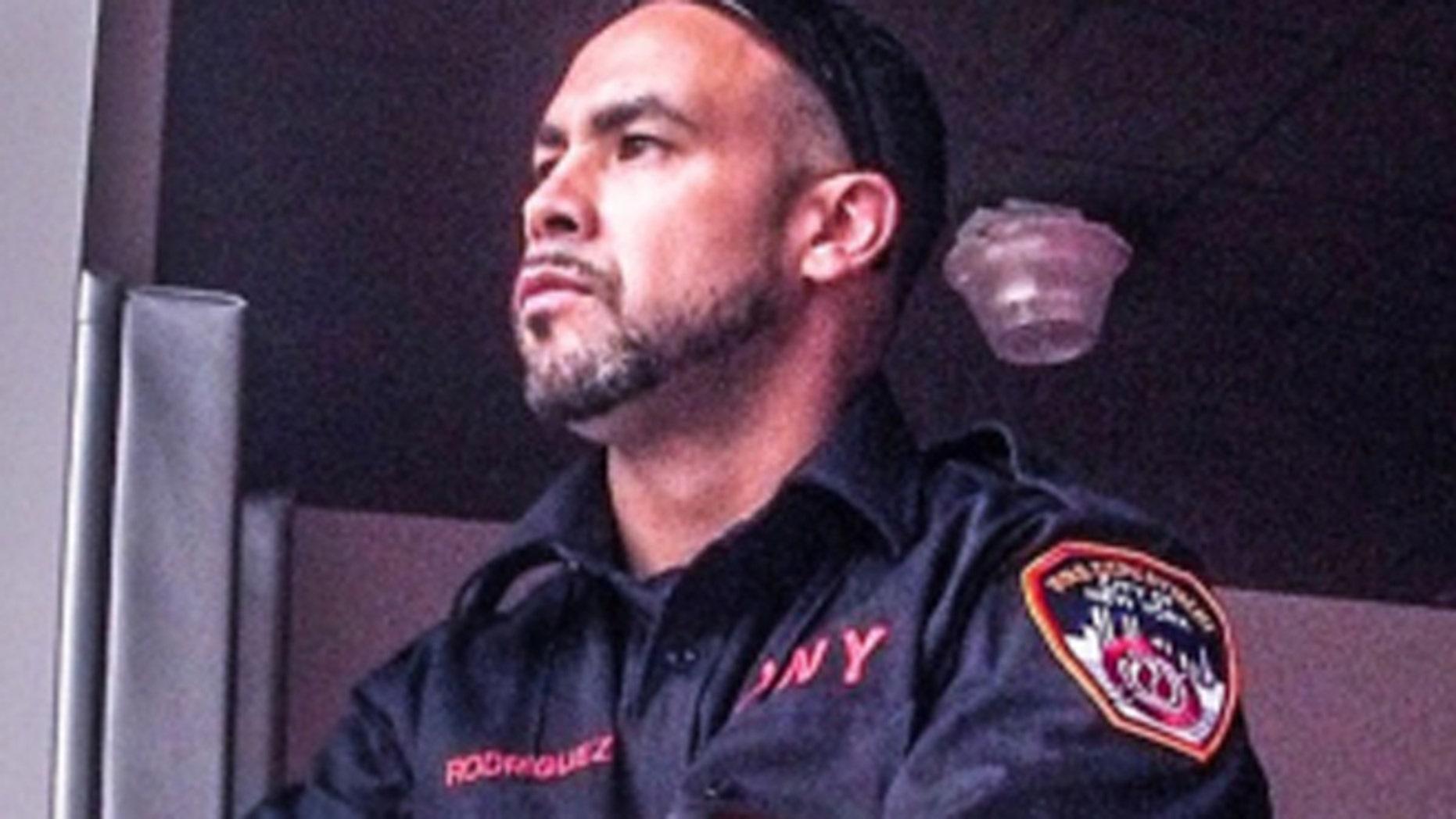 Arnaldo Rodriguez became a NYC firefighter in 2013. (Arnaldo Rodriguez)