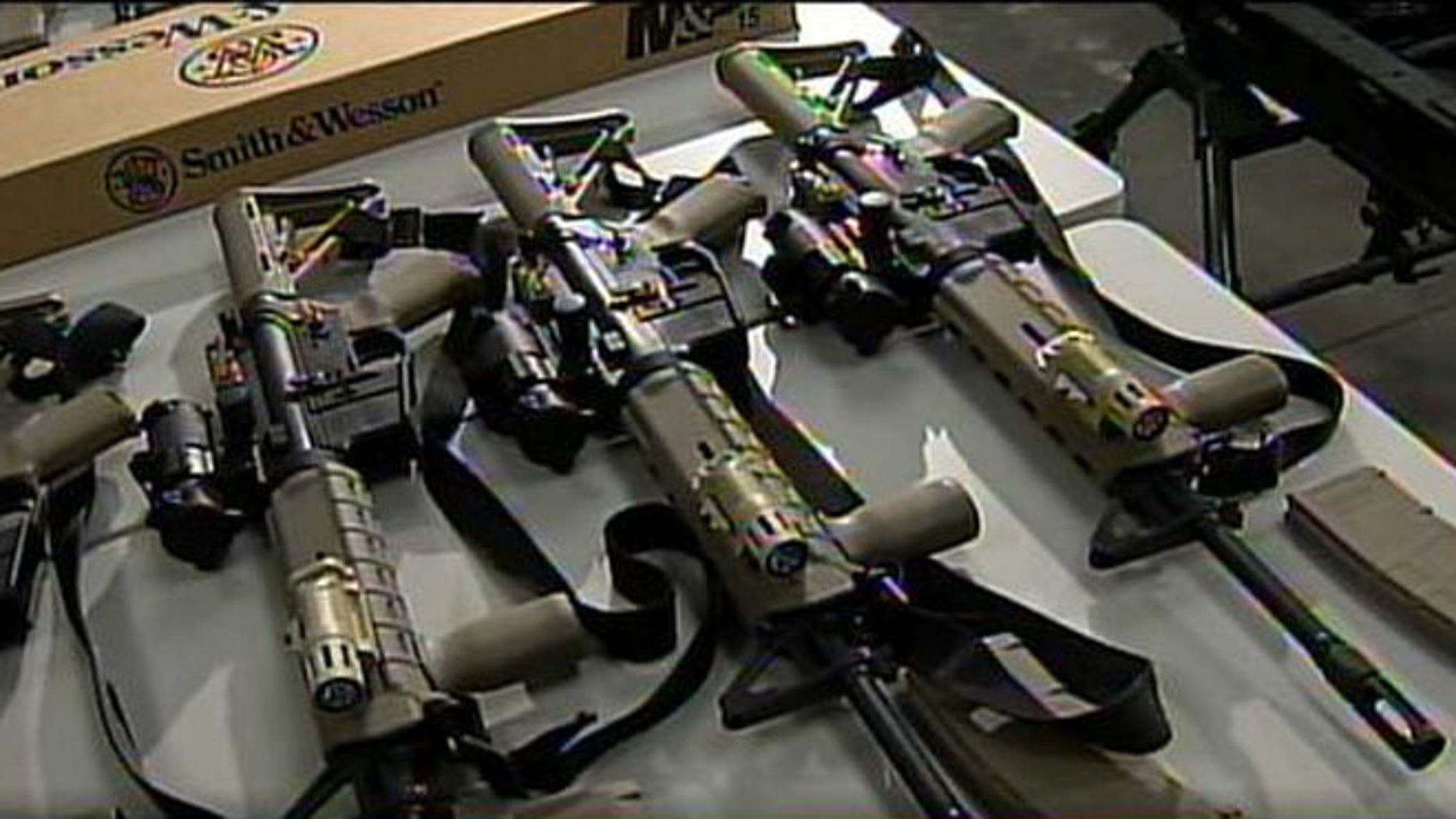 AR-15 style rifles purchased by the Maricopa County Sheriff's Office.
