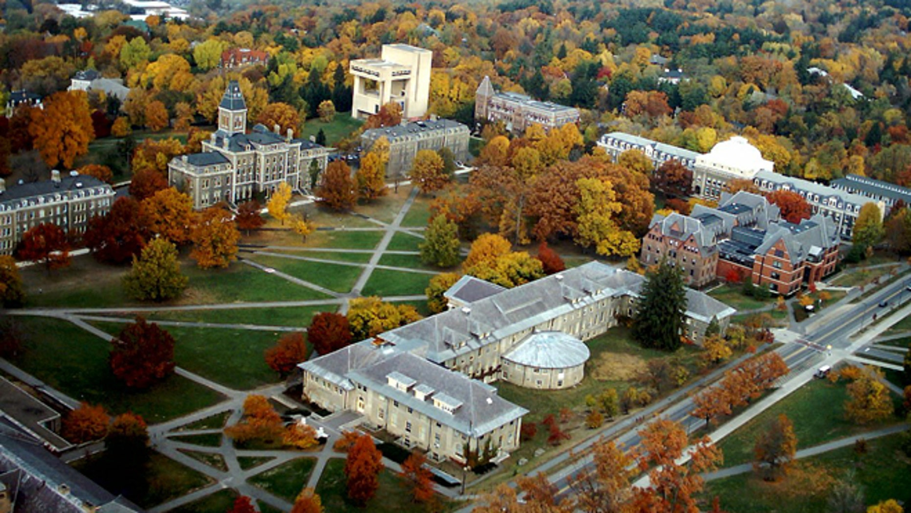Cornell University is shown (Credit: Cornell University)