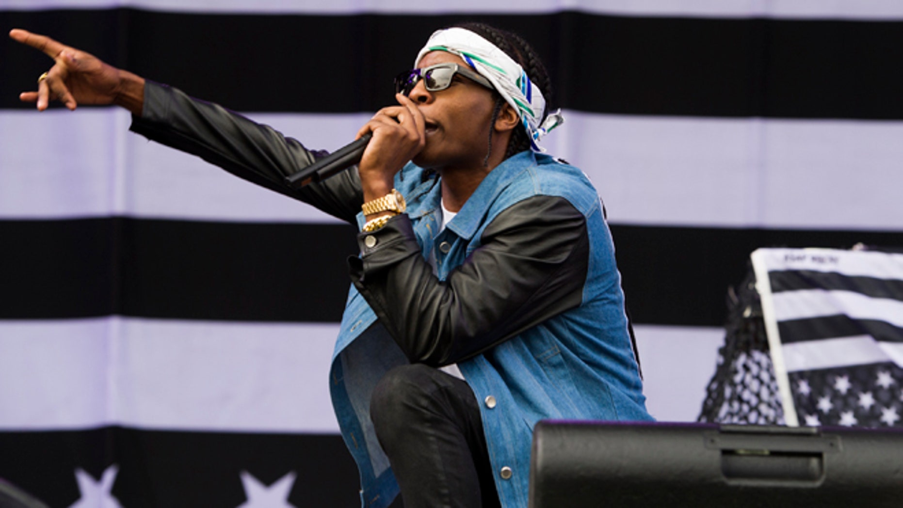 Aug. 31, 2013: ASAP Rocky performs on day one of the 2013 Budweiser Made in America Festival in Philadelphia, PA.