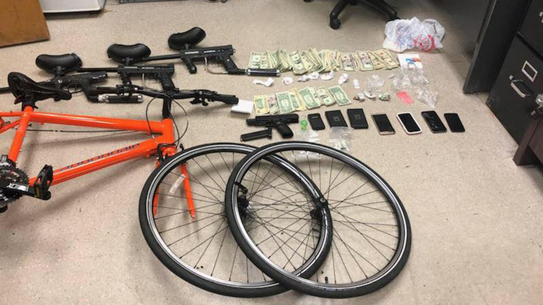 Asbury Park Police said they arrested three people Friday on drug and weapons charges after executing a search warrant over a reported threat.
