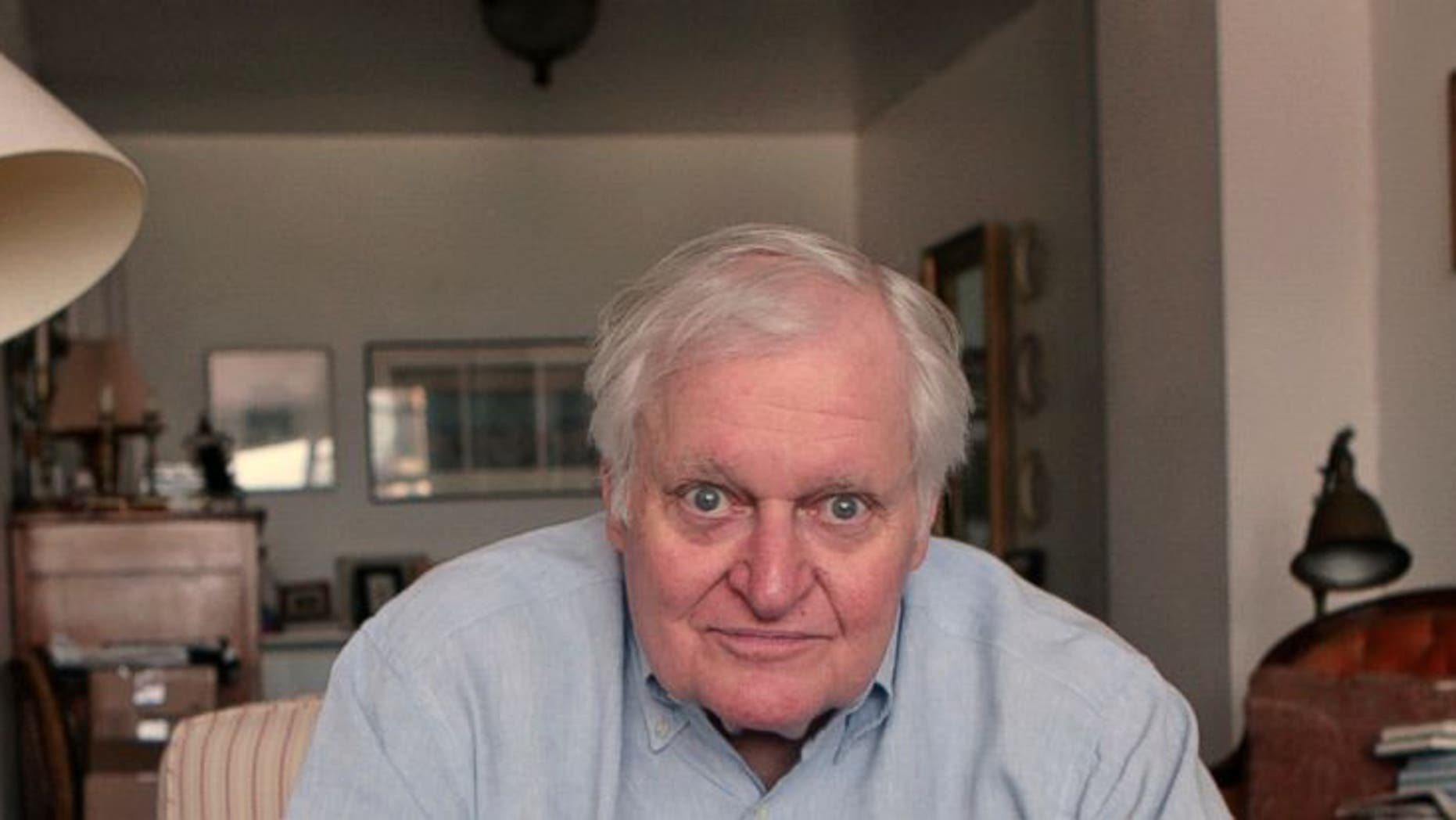 Poet John Ashbery, widely regarded as one of the world's greatest poets, died Sunday at age 90 of natural causes. (AP Photo)