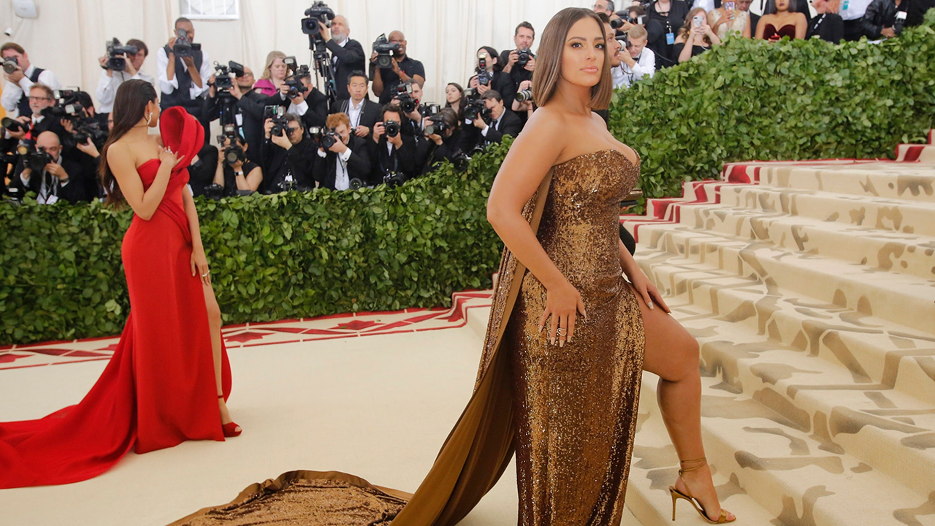 Ashley Graham shared a beauty trick on Instagram Sunday that dermatologists are warning against.