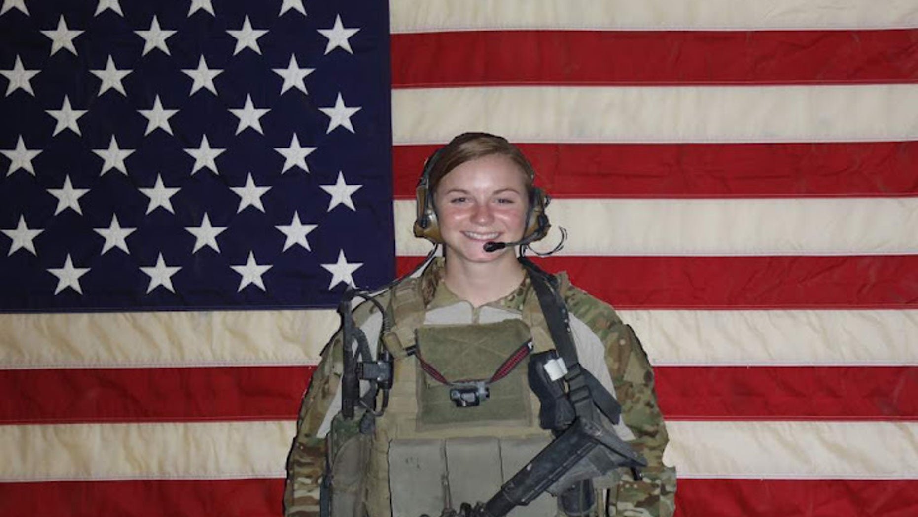 1st Lt. Ashley White Stumpf who was killed during combat operations in Kandahar Province, Afghanistan on October 22, 2011. (Courtesy the White family)