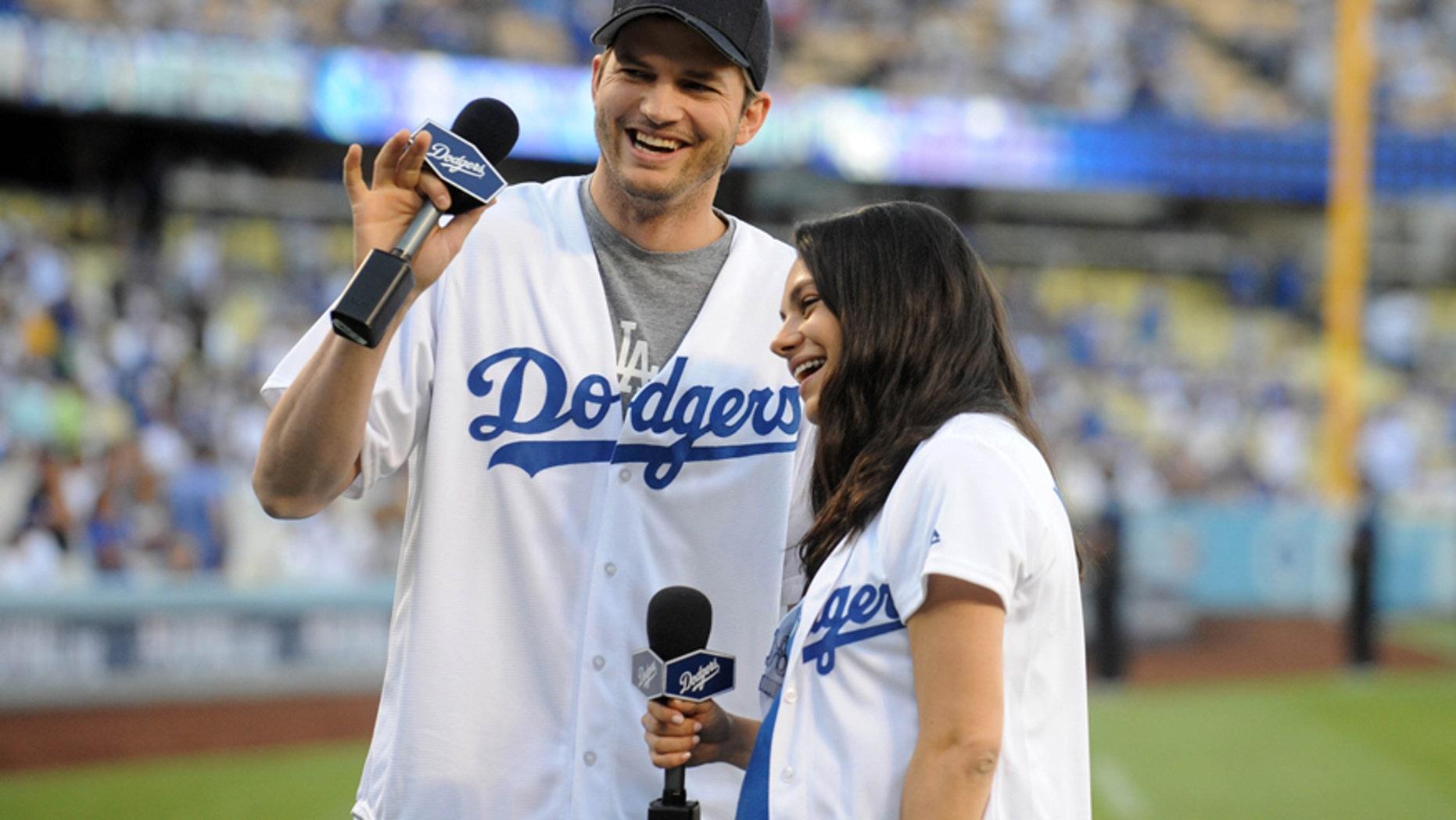 Ashton Kutcher and Mila Kunis married in 2015.