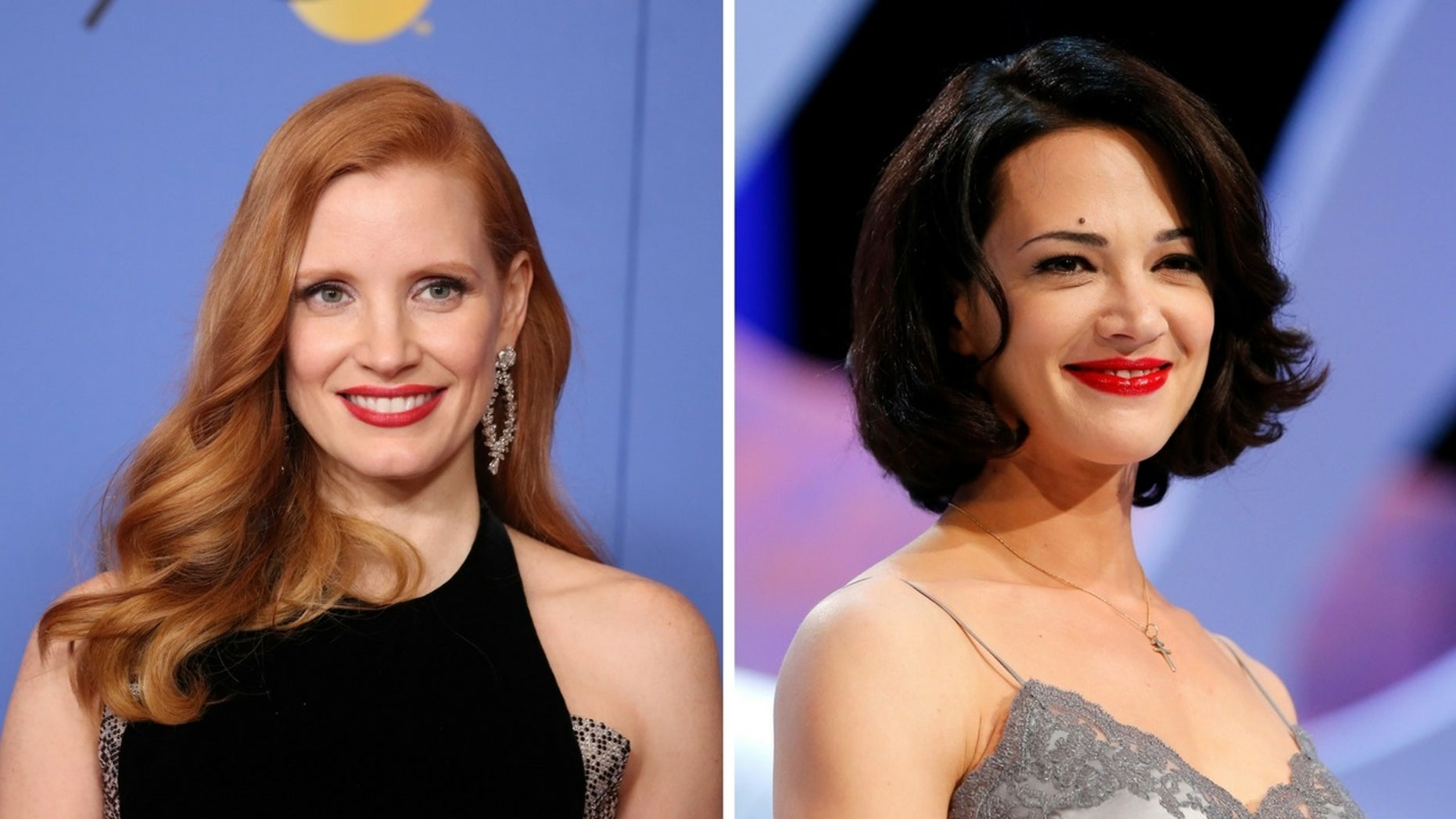 Jessica Chastain defended the #TimesUp movement after Asia Argento criticized it for excluding others.