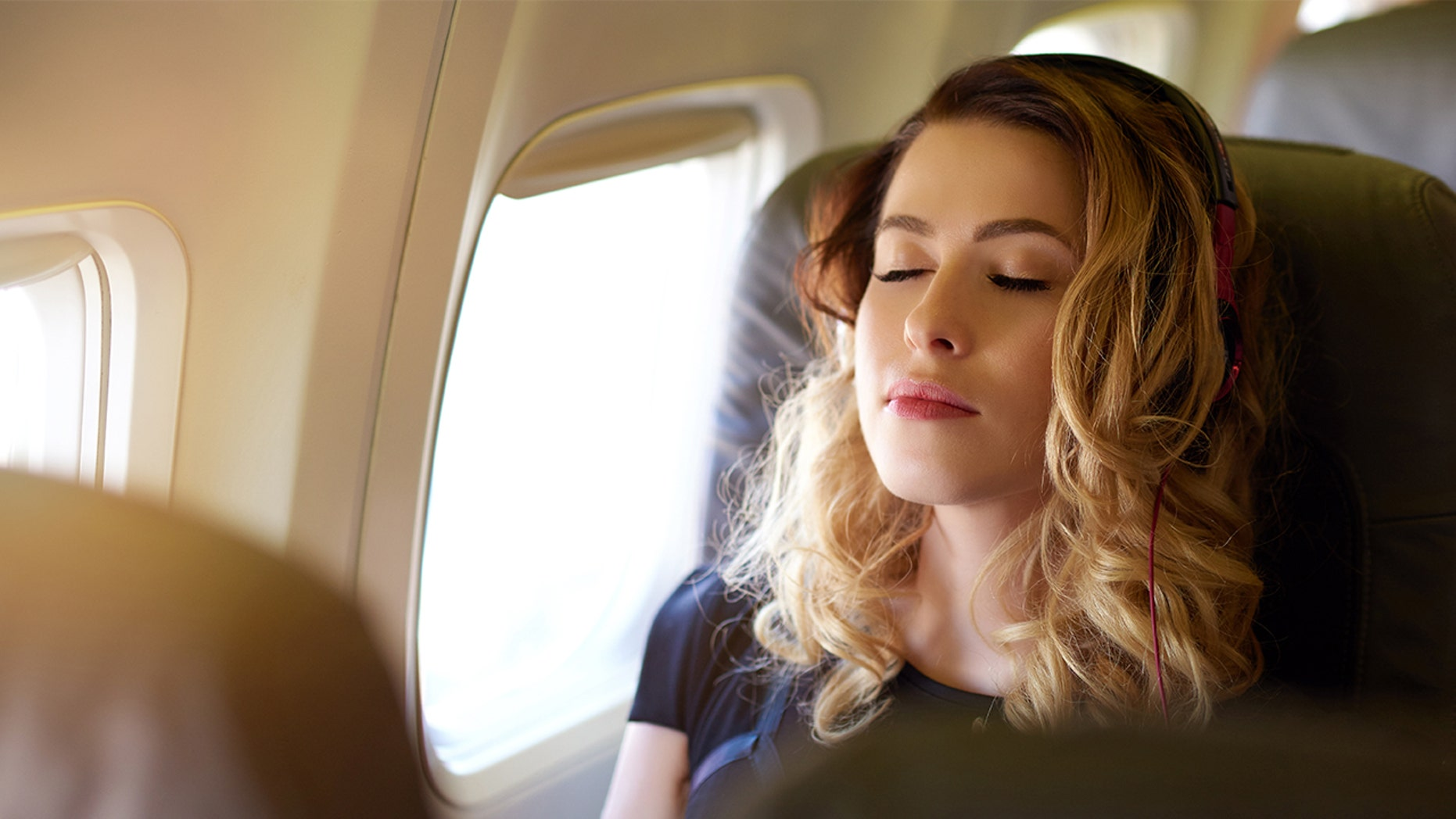 Sleeping during takeoff and landing can be hazardous to your health