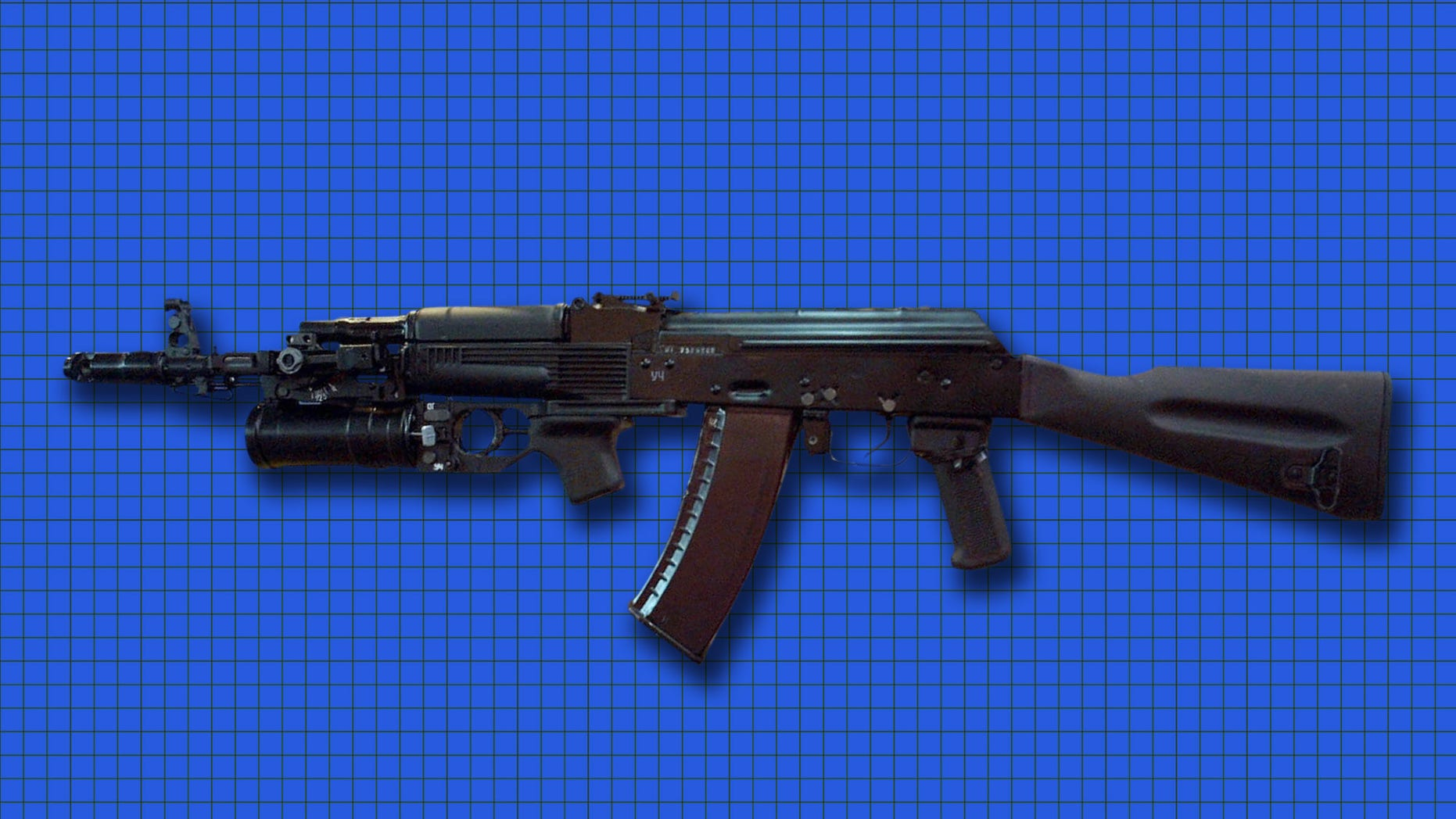 Twenty-six AK-74 assault rifles, above, and one Dragunov sniper rifle were stolen from a supply warehouse at Fort Irwin in San Bernardino County.