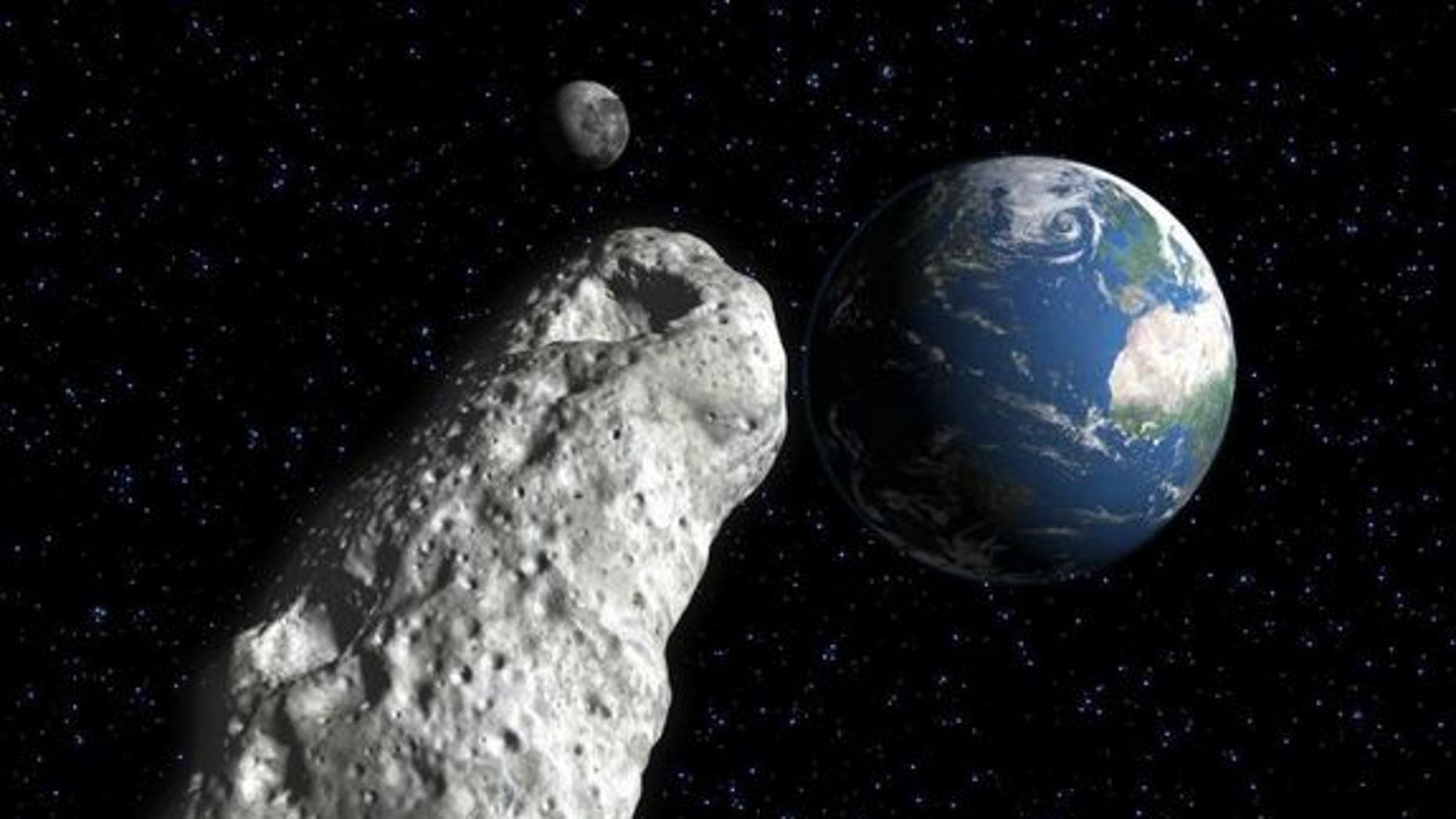 Asteroid the size of a football field makes 'surprise' flyby