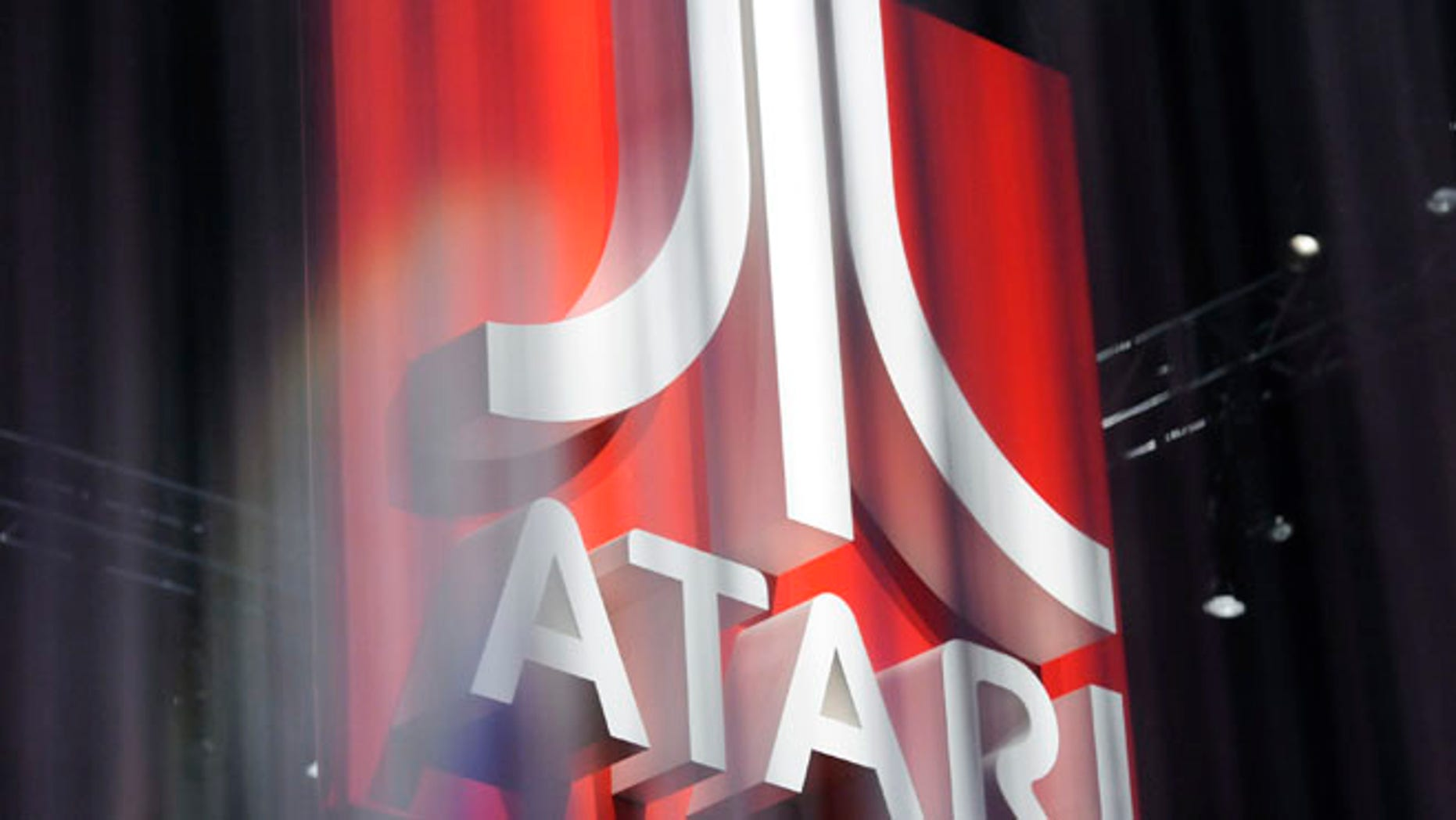June 8, 2011: The Atari booth is pictured during E3, the Electronic Entertainment Expo, in Los Angeles.