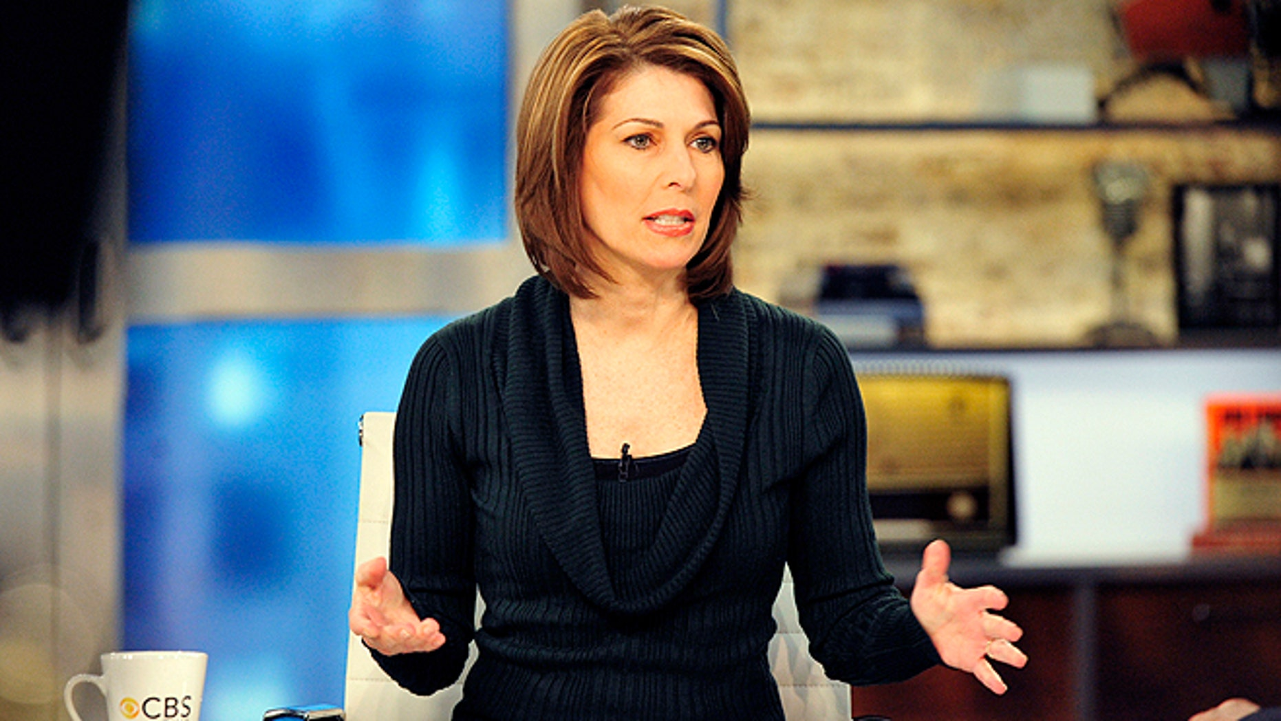 Investigative Correspondent Sharyl Attkisson is seen during a broadcast of 'CBS This Morning' in New York. CBS News says private investigators found that Attkisson's computer was tampered with multiple times last year.  (AP/CBS, John P. Filo)