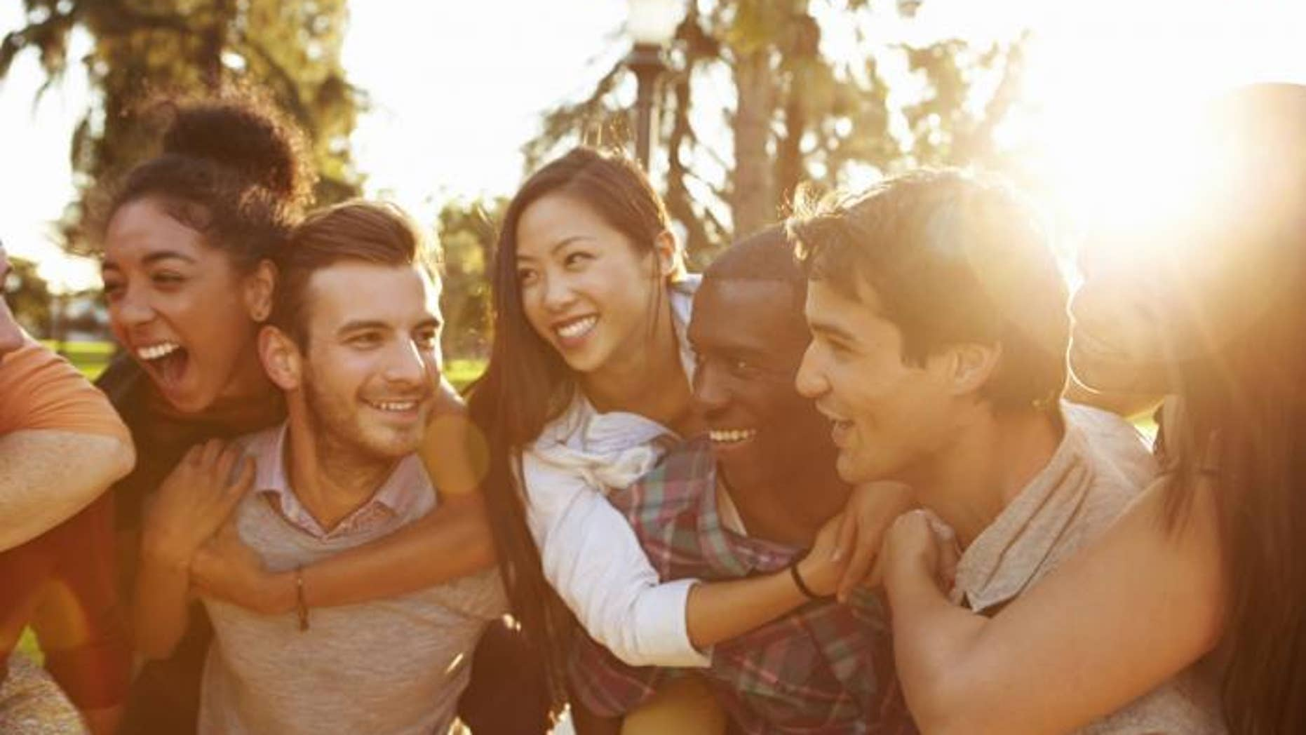 Being around attractive friends makes you hotter