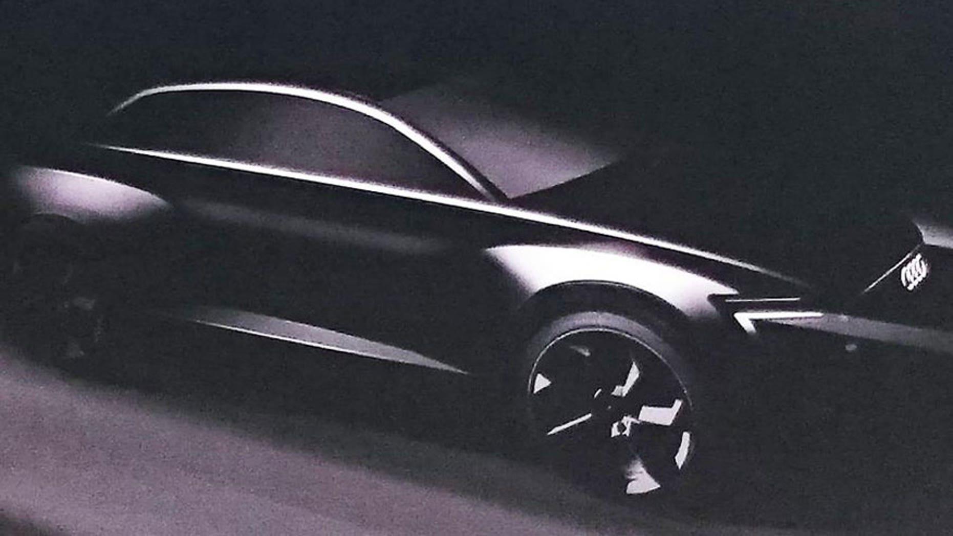 Audi crossover teaser image