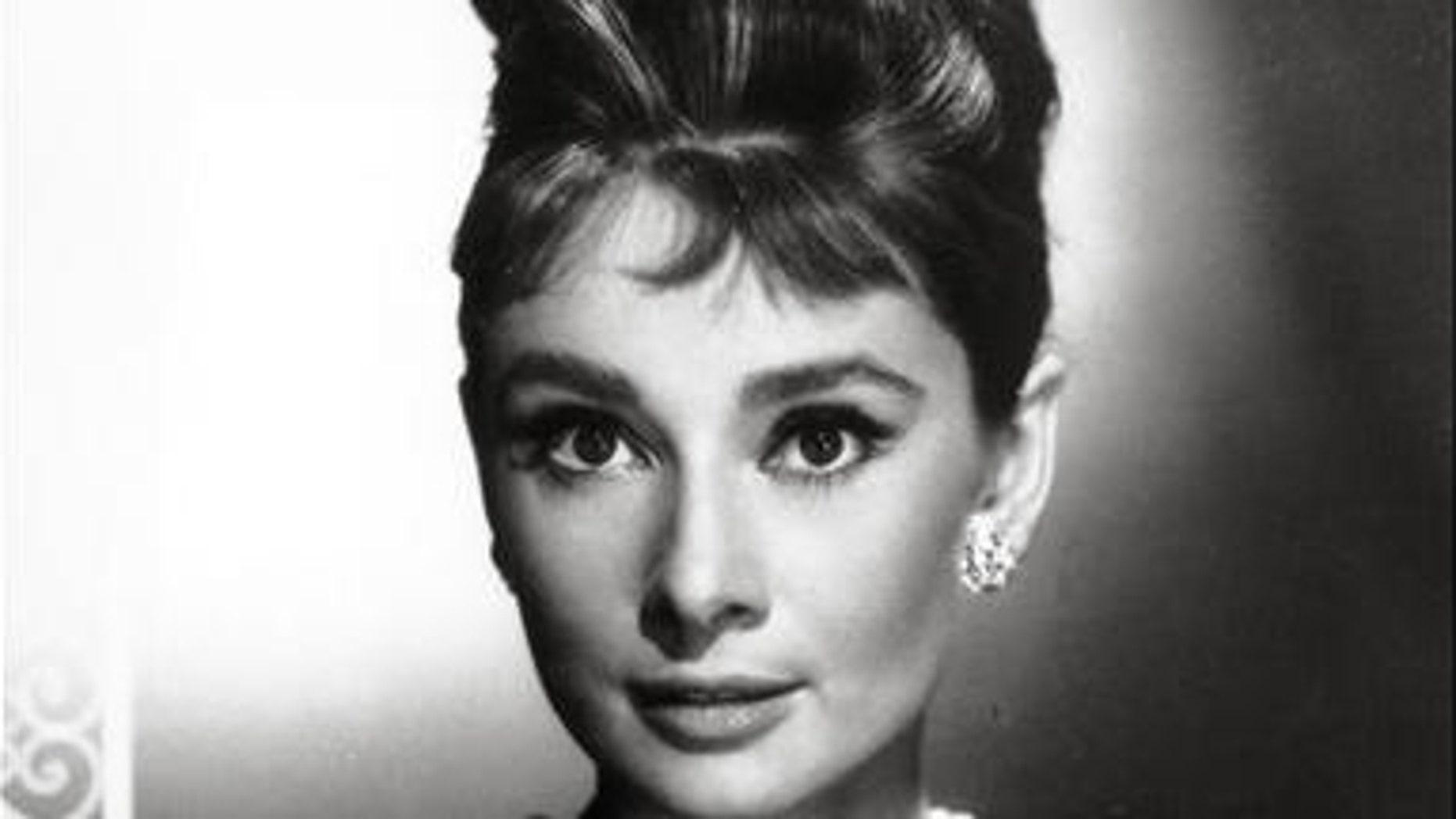"Audrey Hepburn as Holly Golightly from movie ""Breakfast at Tiffany's."""