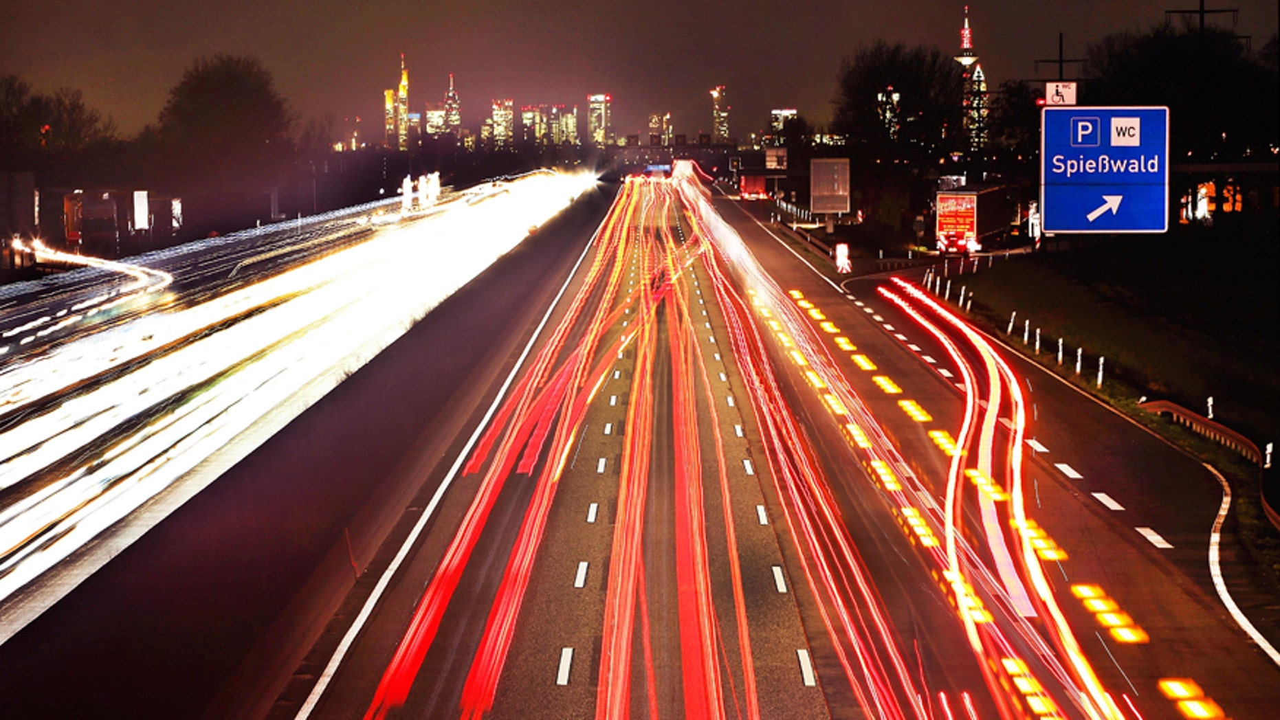 A5 highway near Frankfurt