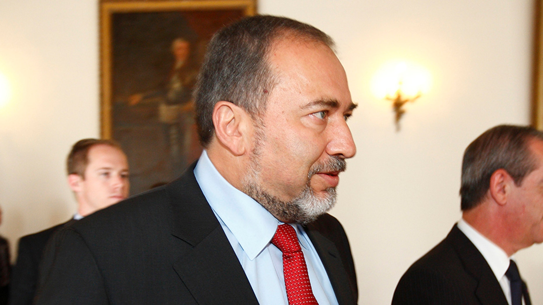 Israel revealed it foiled a terror plot targeting Defense Minister Avigdor Liberman, seen here in 2010.