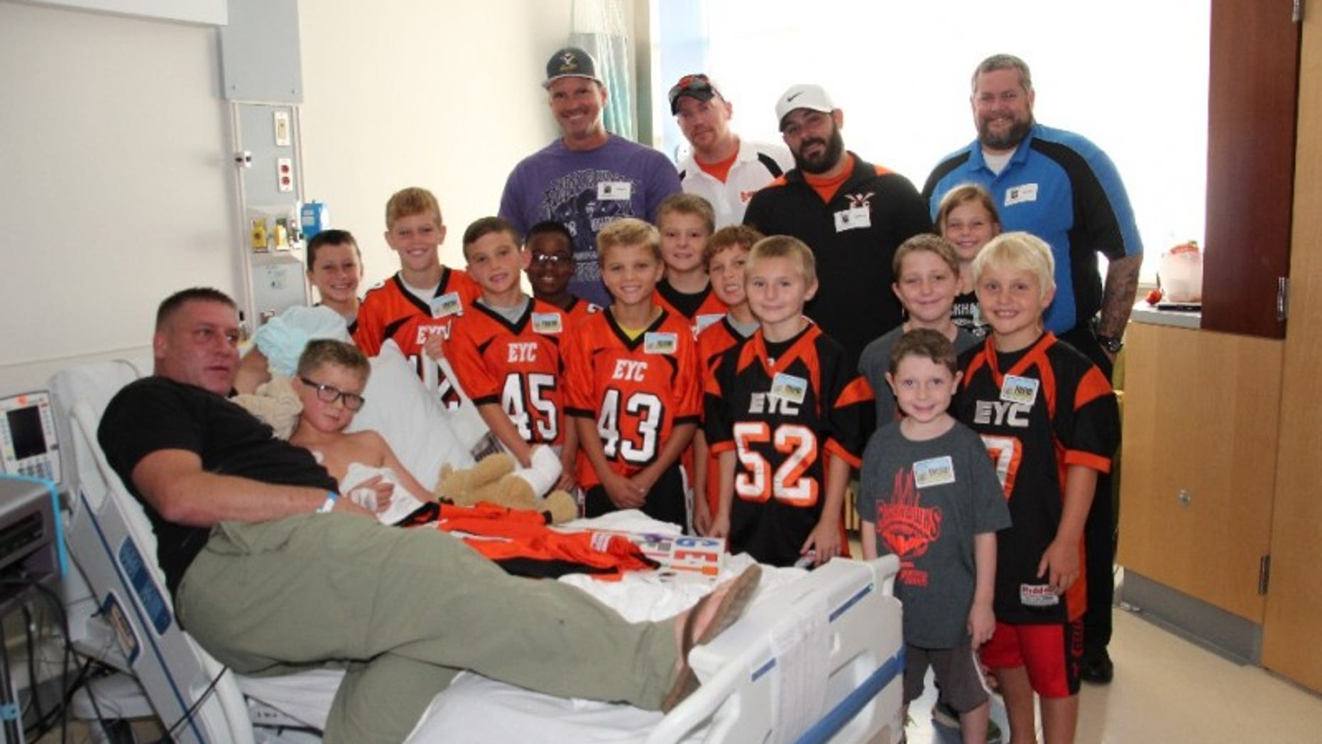 Ayden Zeigler-Kohler was diagnosed with DIPG after collapsing at football practice.