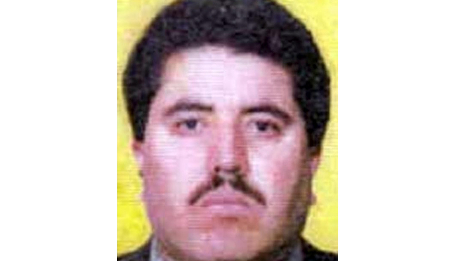 This undated image taken from the FBI webpage shows Vicente Carrillo Fuentes, the alleged leader of the Juarez drug cartel. Mexican officials said Thursday, Oct. 9, 2014, that Carrillo Fuentes has been arrested in the northern city of Torreon. (AP Photo/FBI website)