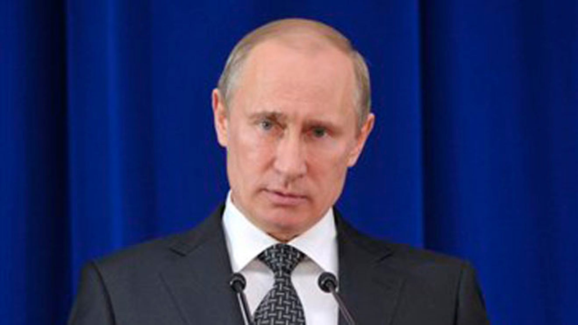 May 30, 2012: Russian President Vladimir Putin speaks at a meeting marking the 20th anniversary of the Russian Security Council in the Kremlin in Moscow.