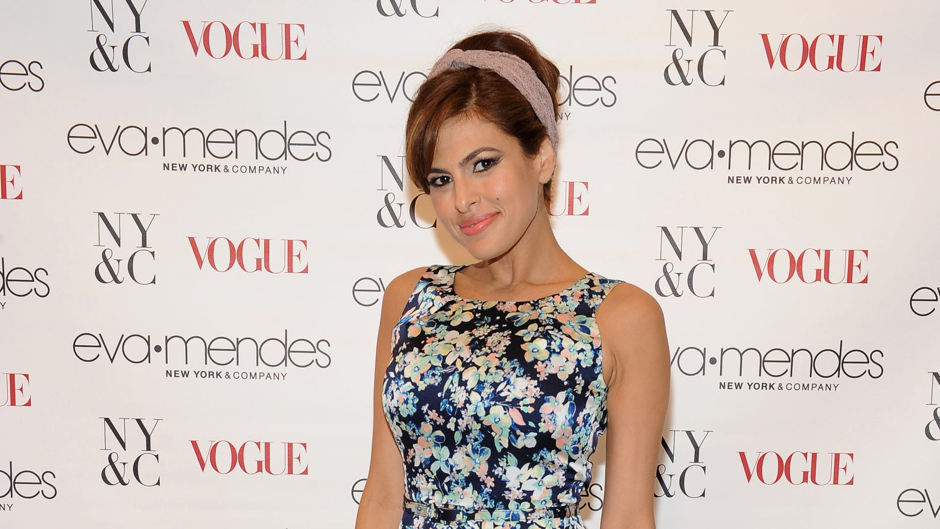 CERRITOS, CA - MARCH 19: Eva Mendes attends the Eva Mendes For New York & Company Spring Launch at the Los Cerritos Center on March 19, 2014 in Cerritos, California.  (Photo by Angela Weiss/Getty Images for New York & Comp)