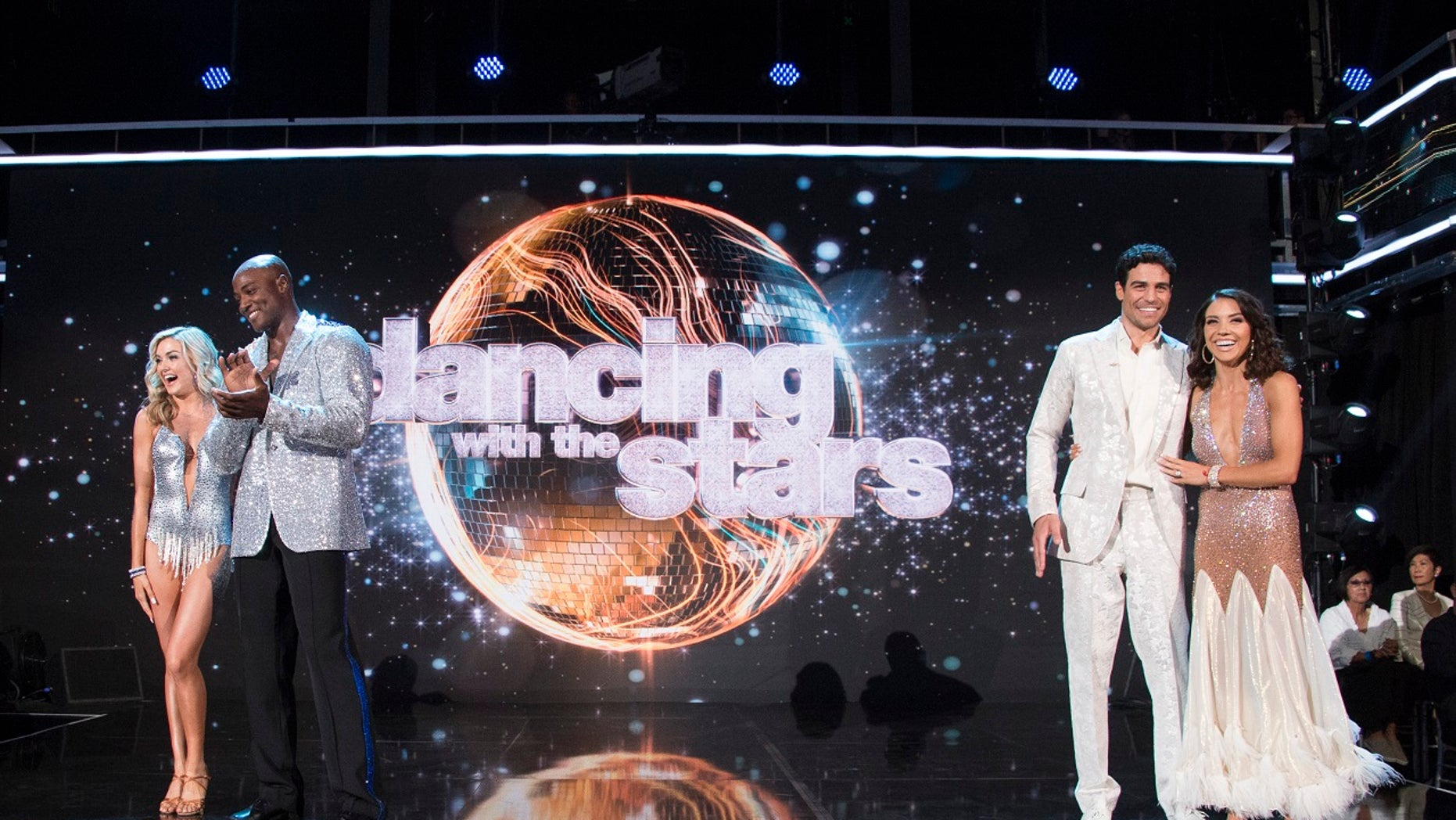 """The premiere of """"Dancing with the Stars"""" kicked off Monday night."""