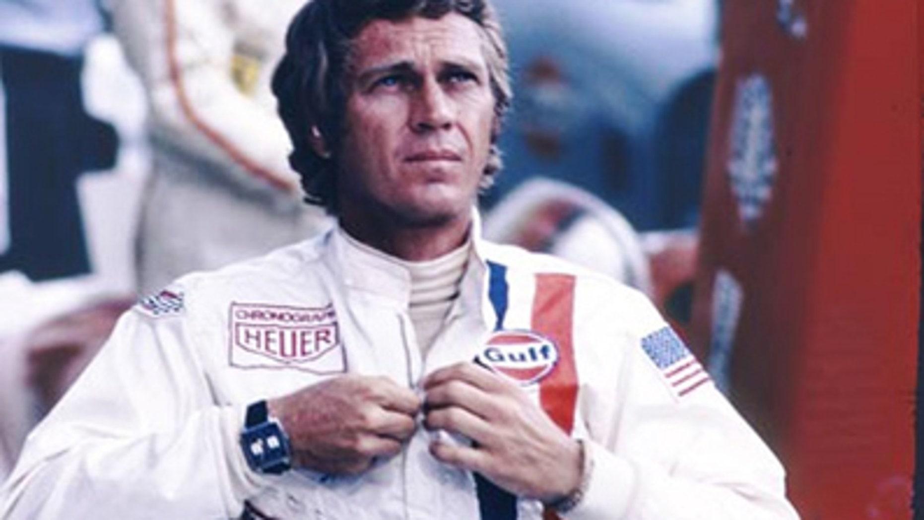 Image of Steve McQueen in Le Mans