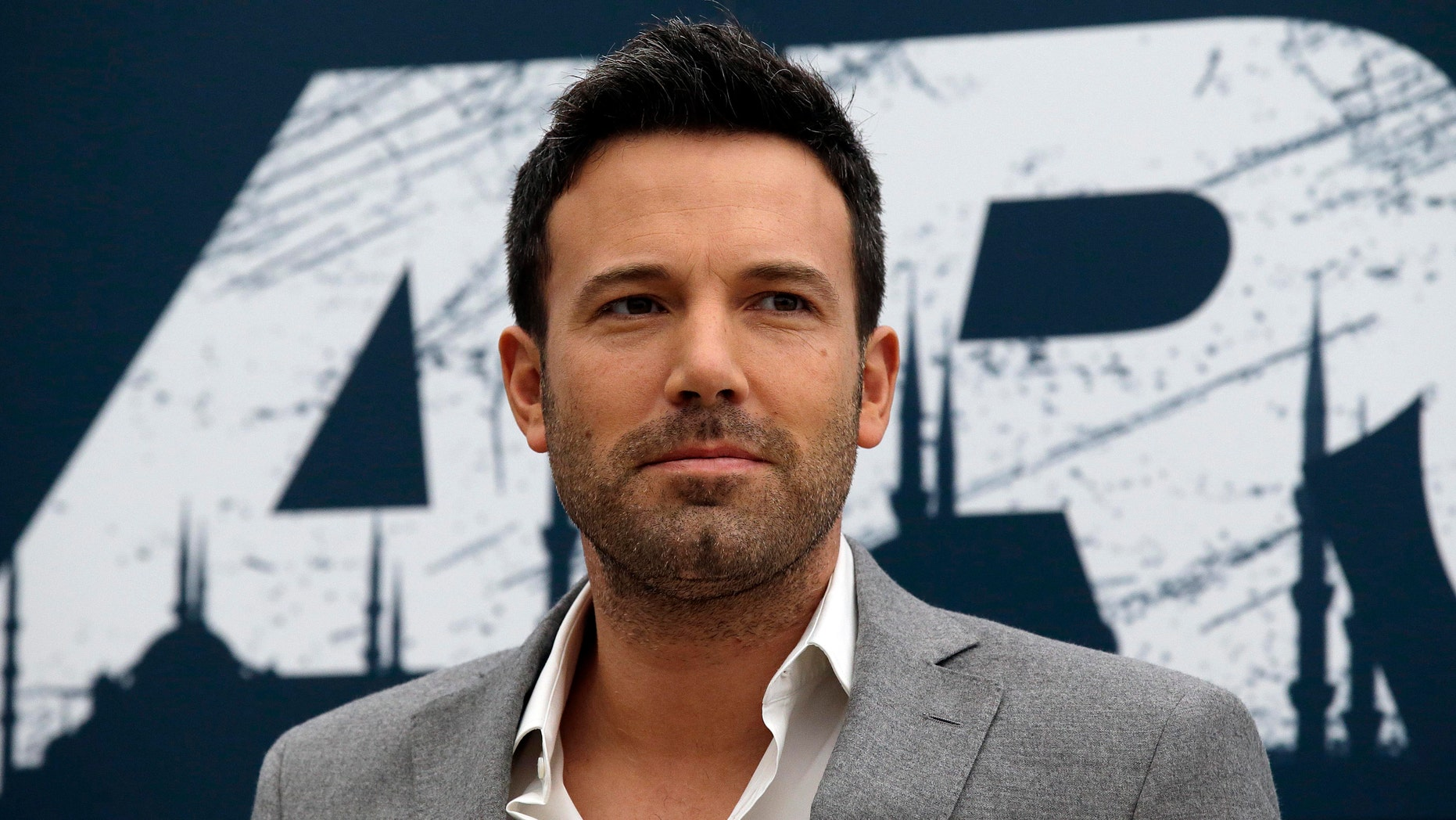 """Actor Ben Affleck poses for photographers during a photocall to present his movie """"Argo"""" in Rome, Friday, Oct. 19, 2012. (AP Photo/Gregorio Borgia)"""
