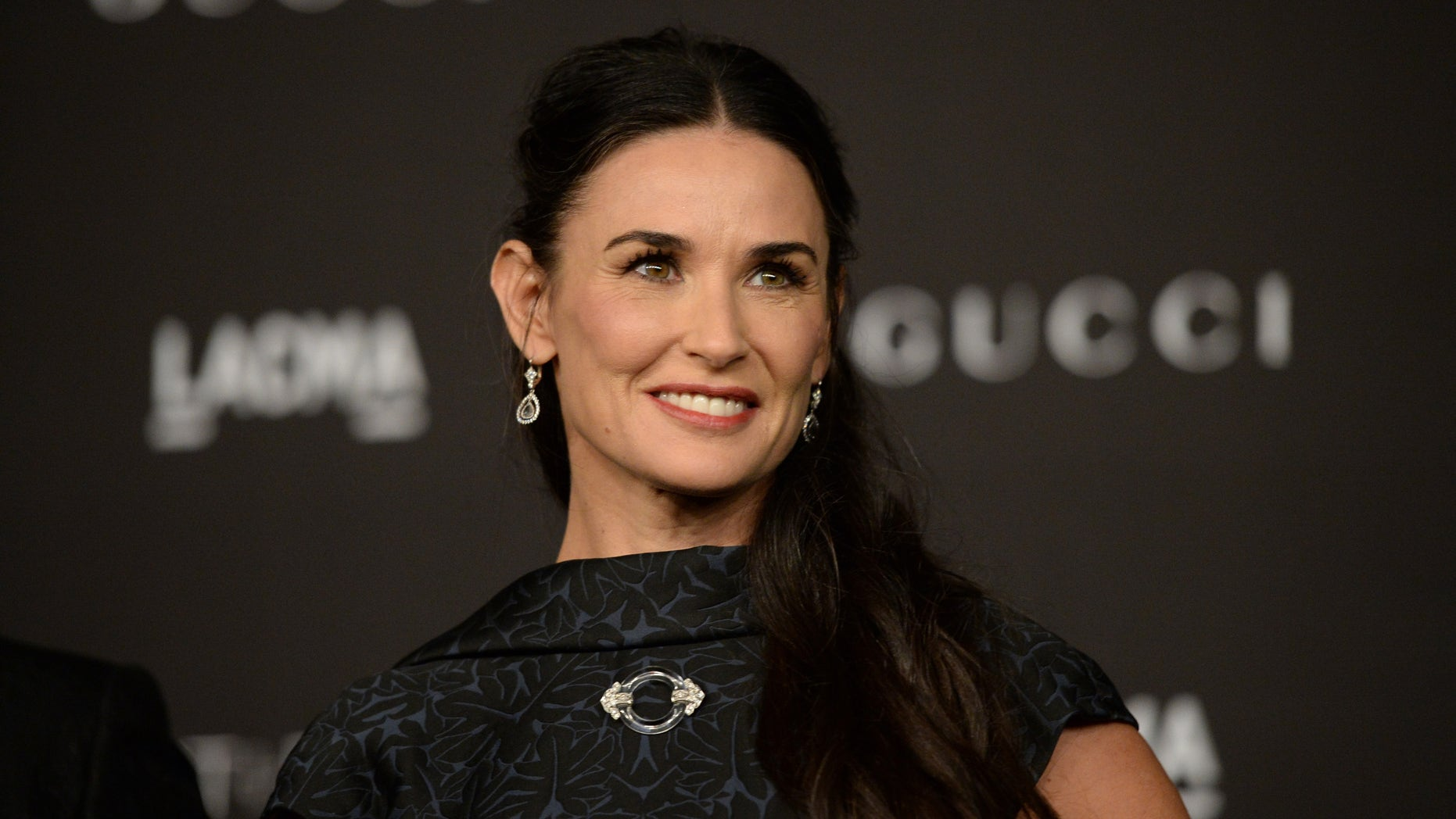 LOS ANGELES, CA - NOVEMBER 01:  Actress Demi Moore attends the 2014 LACMA Art + Film Gala honoring Barbara Kruger and Quentin Tarantino presented by Gucci at LACMA on November 1, 2014 in Los Angeles, California.  (Photo by Jason Merritt/Getty Images for LACMA)
