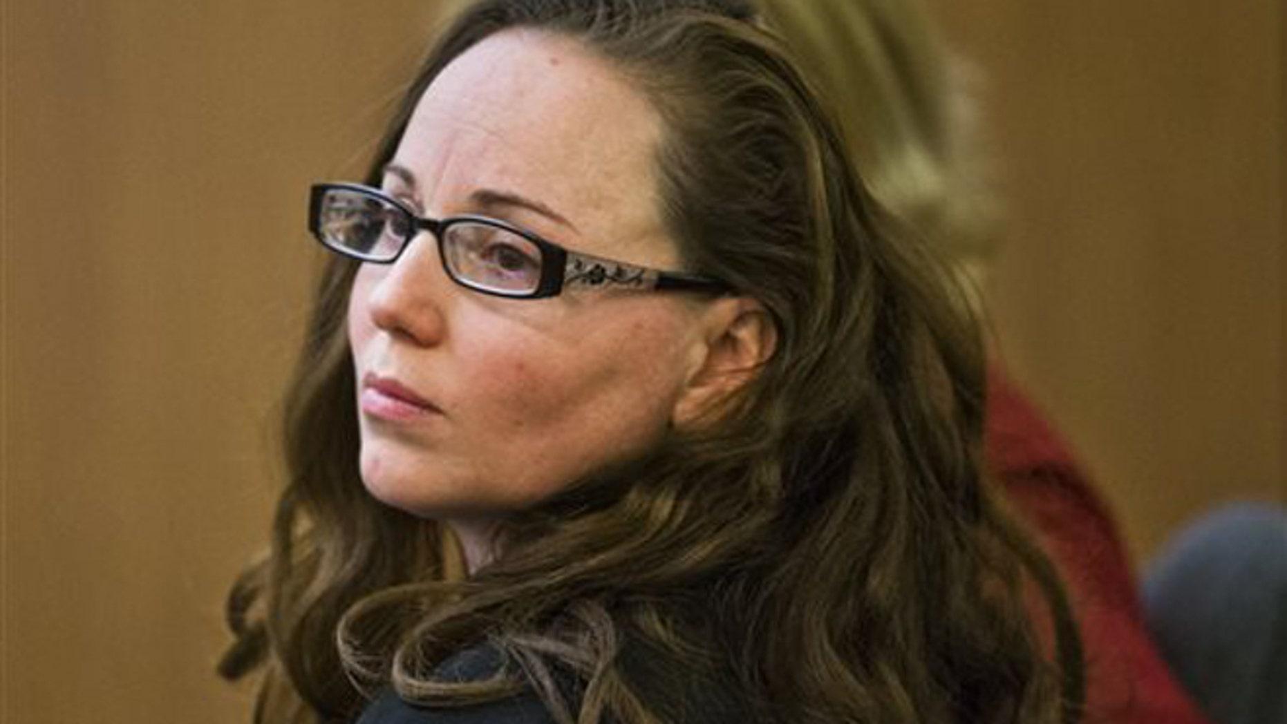 Marissa Devault in Maricopa County Superior Court, Tuesday, April 8, 2014, in Phoenix.