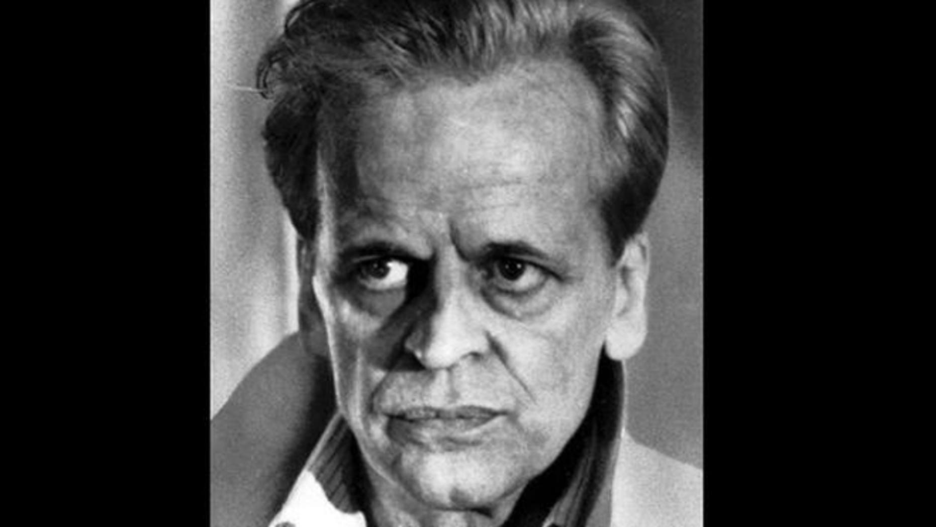 A 1982 headshot of actor Klaus Kinski.