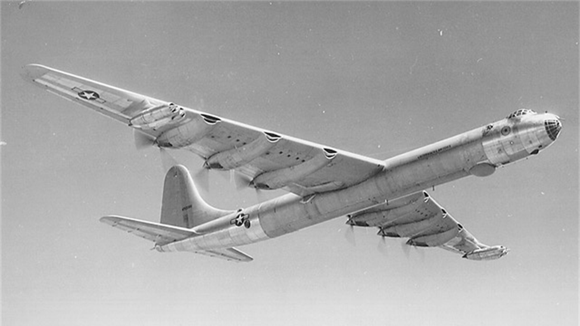 File photo - 1950's B-36 Peacemaker (U.S. Air Force photo)
