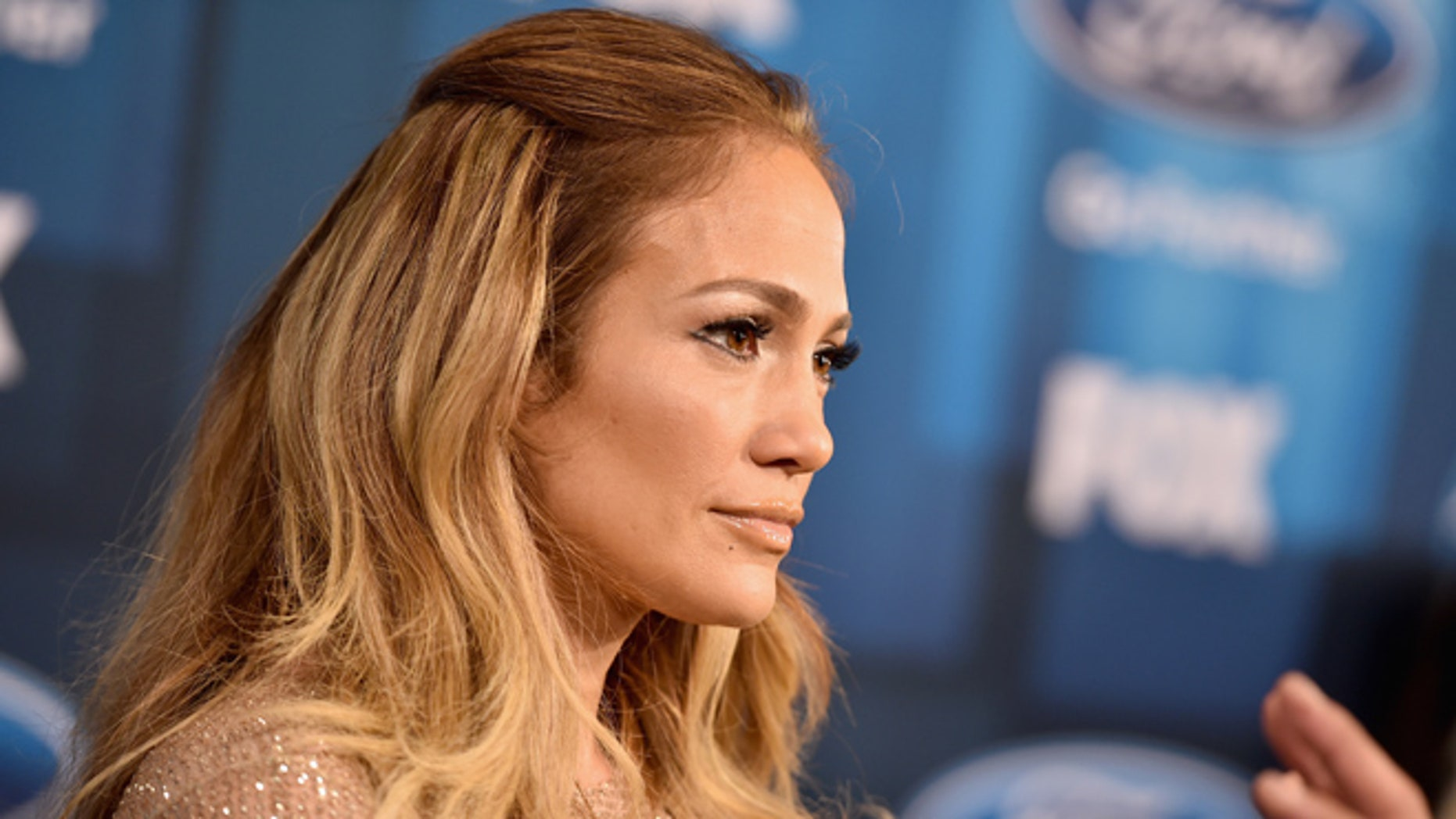 Jennifer Lopez on April 7, 2016 in Hollywood, California.