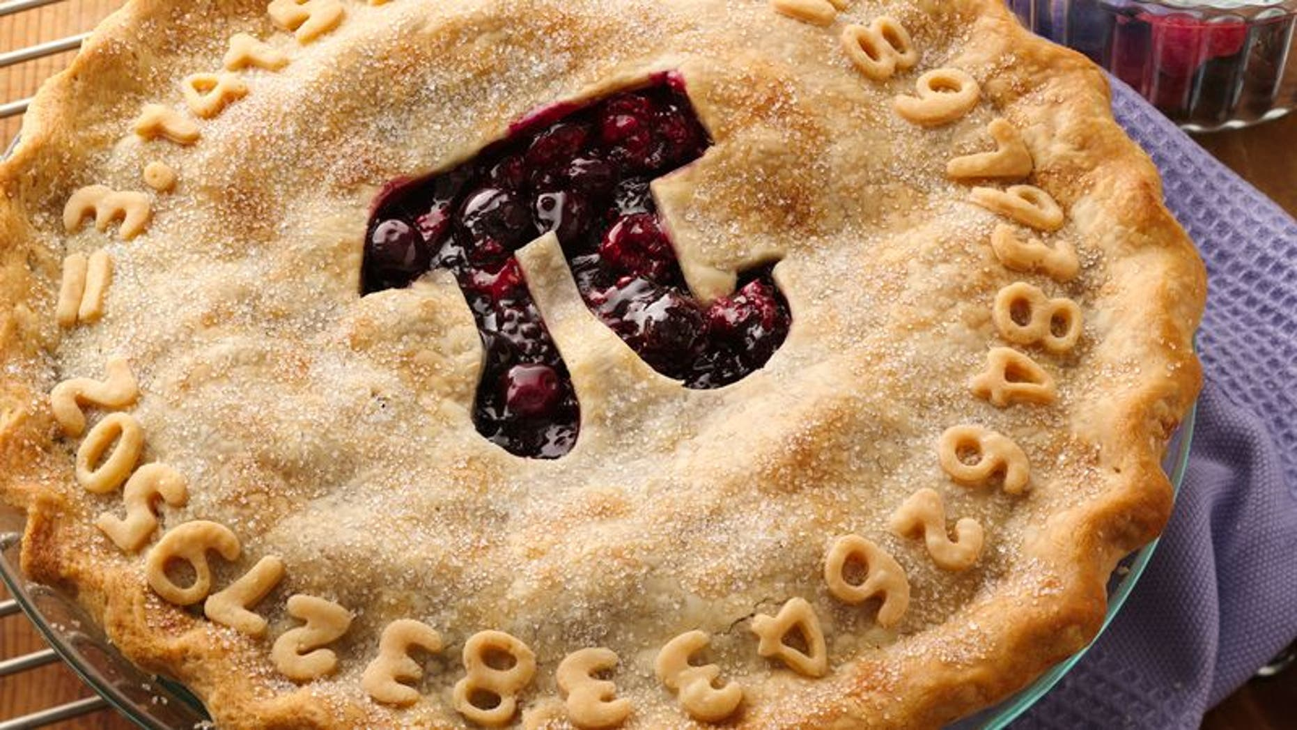 """Pillsbury even created its own """"Pi Day Pie"""", posting the recipe on its website, to mark the occasion."""