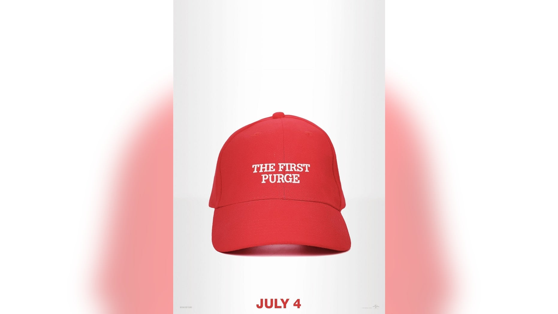 b08dc0c40 Purge' movie poster features hat just like Trump's 'Make America ...