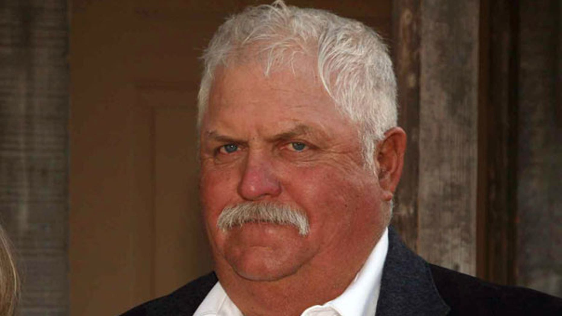 Arizona rancher Robert Krentz, pictured here in 2008, was killed in March on his own property 35 miles outside of the border town of Douglas, Ariz.  No arrests have been made.