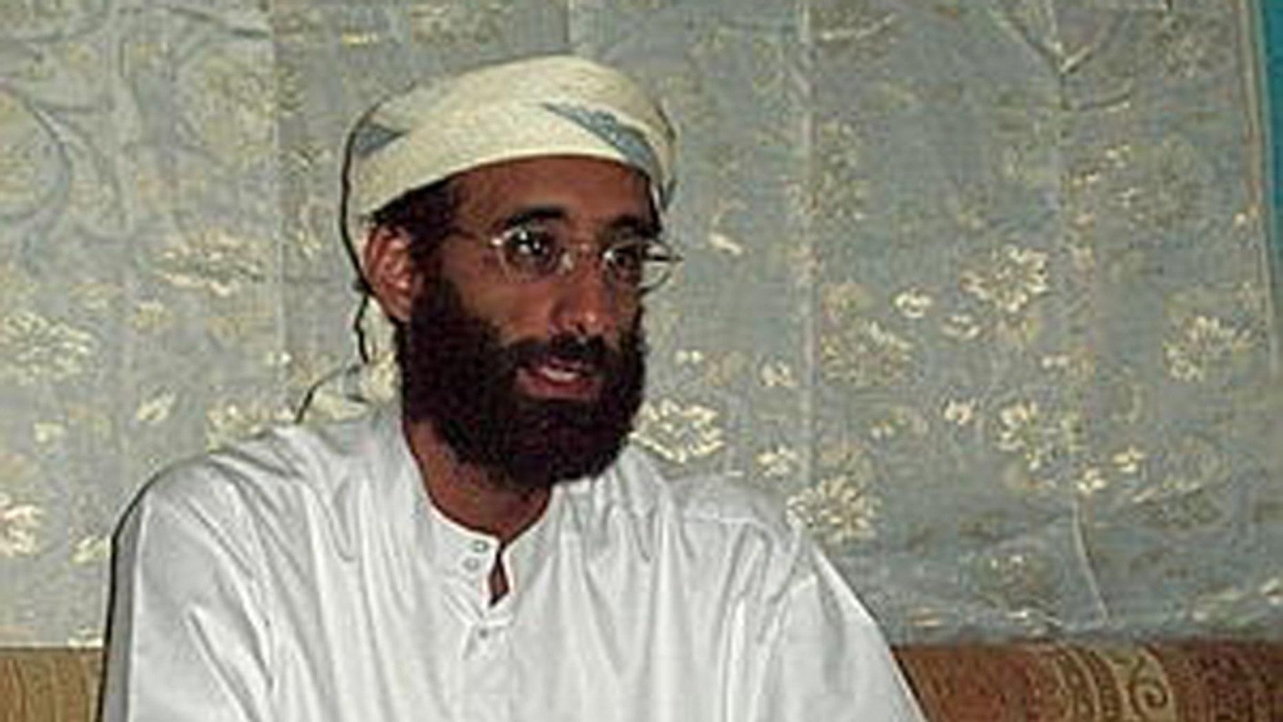 Radical Yemeni-American cleric Anwar al-Awlaki