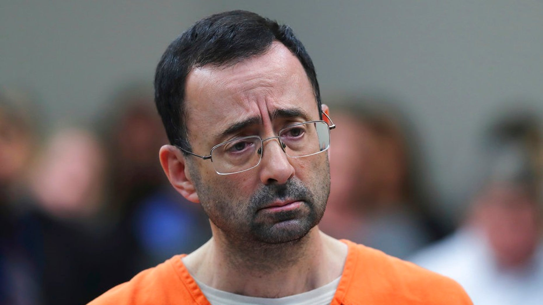 A male gymnast has become the first known male victim to formally accuse Dr. Larry Nassar, 54, of sexual abuse.