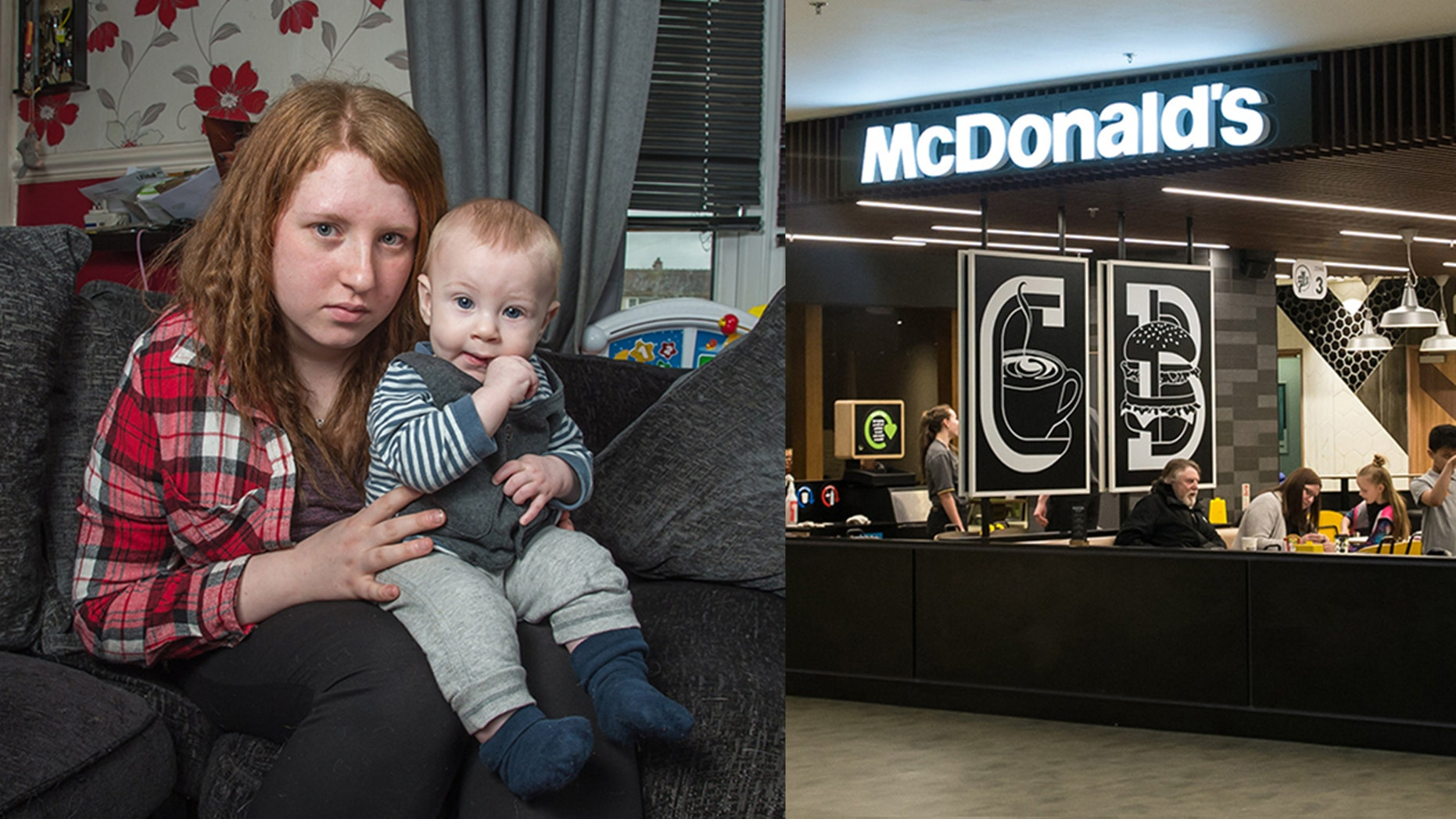 """Christine Wilson is speaking out against McDonald's for making her feel """"victimized."""""""